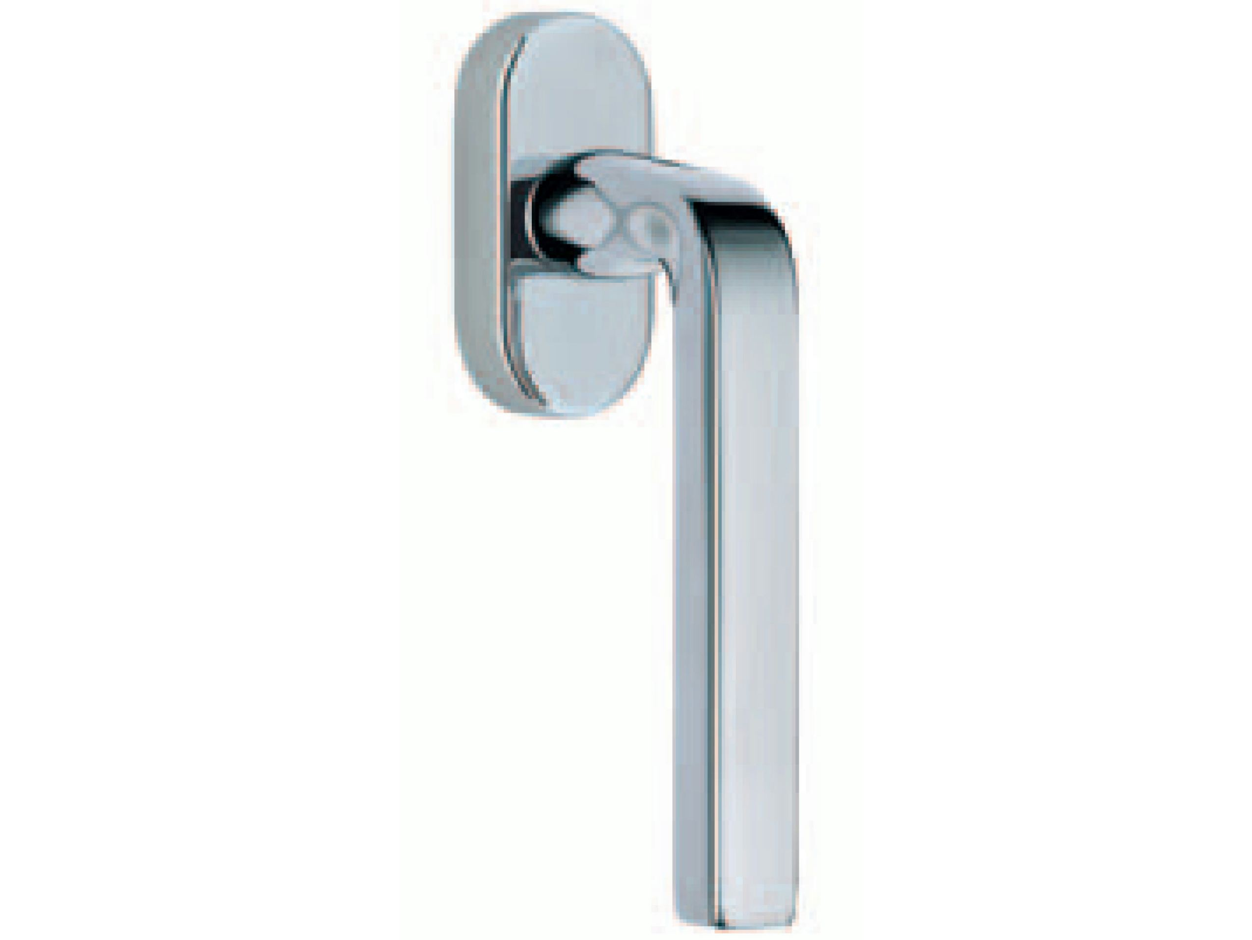 Milano window handle by rds design ivo pellegri for Window handles