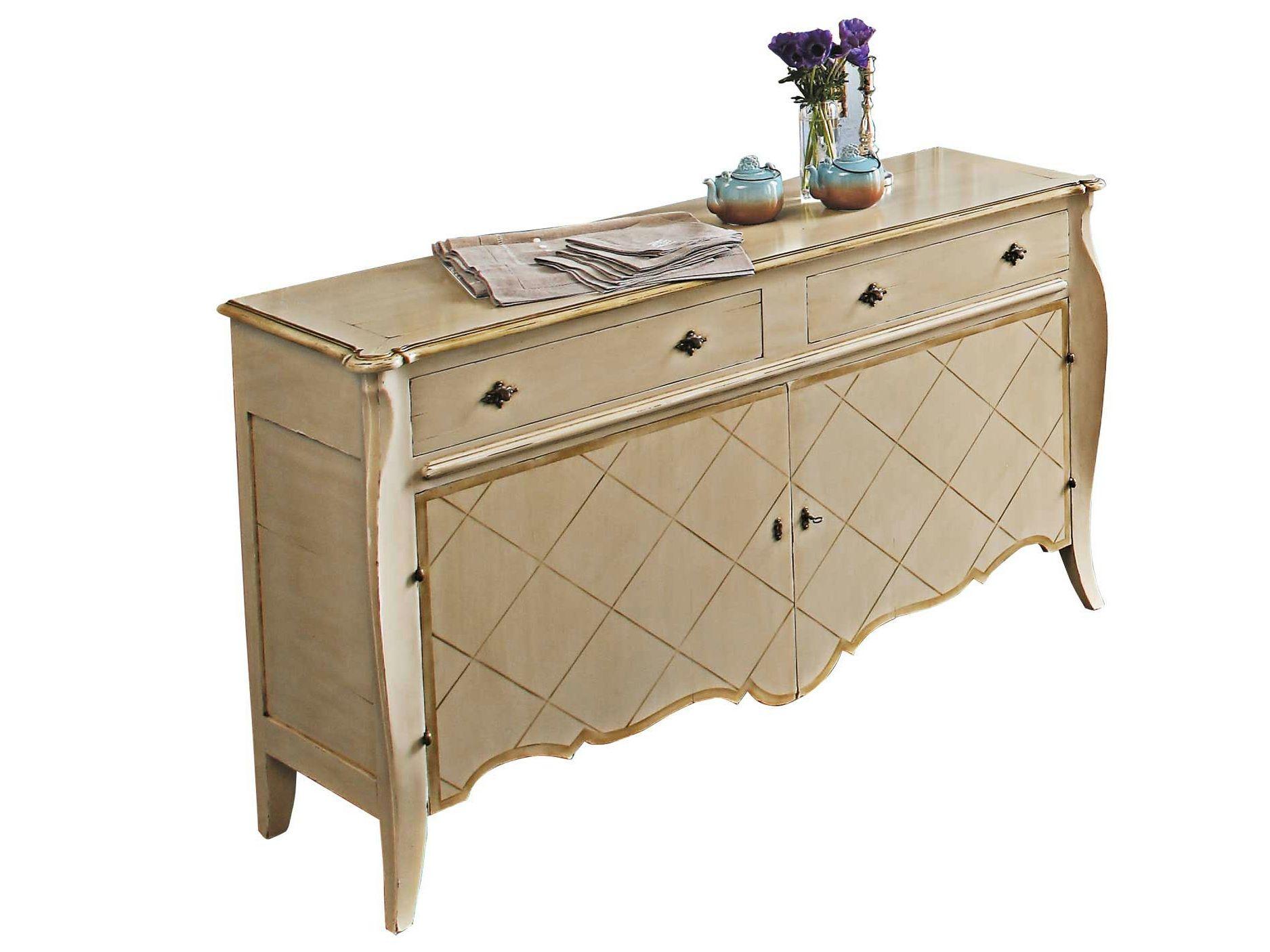Aparador de madera collonges colecci n nouveaux classiques for Muebles roche bobois catalogo