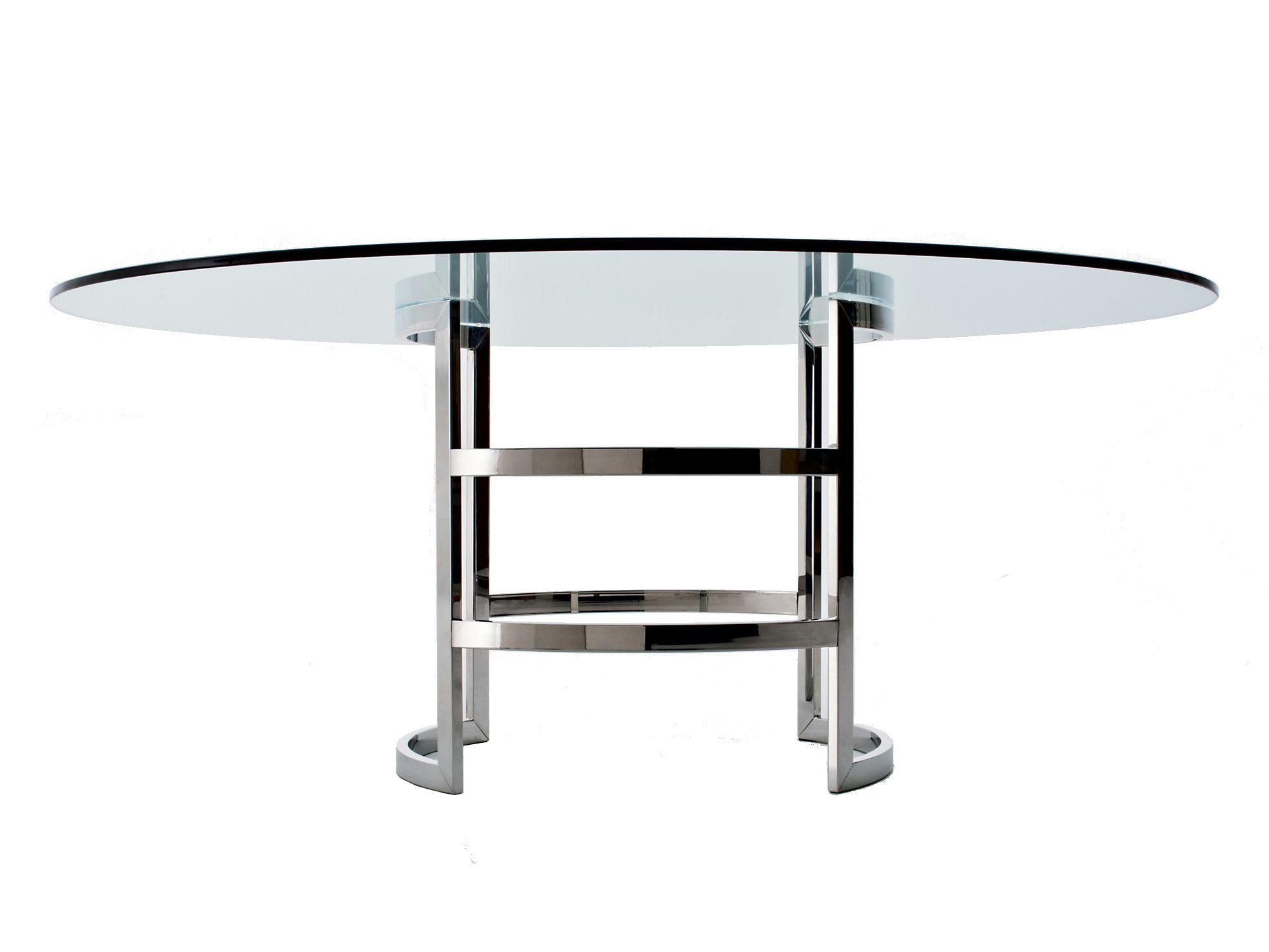Mesa de cristal asia by gallotti radice dise o ricardo - Mesa cristal diseno ...
