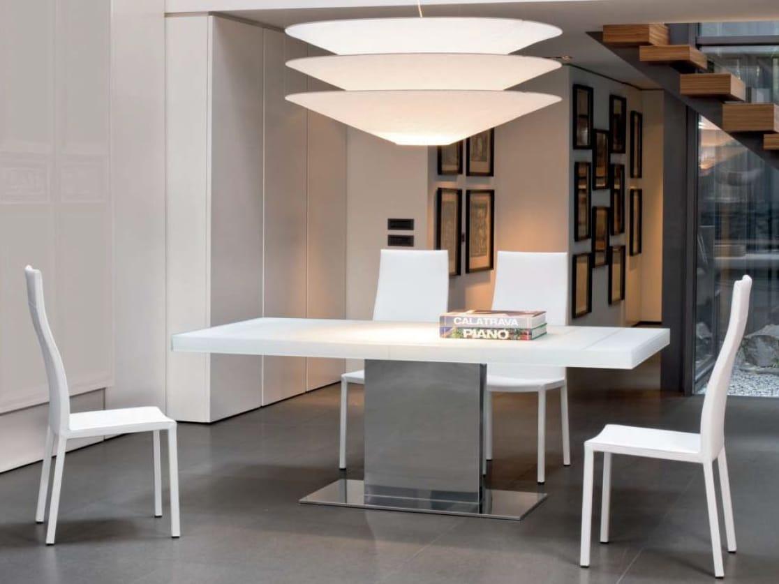 Sedia con schienale alto milena by bonaldo design james br nte for Sedia design schienale alto