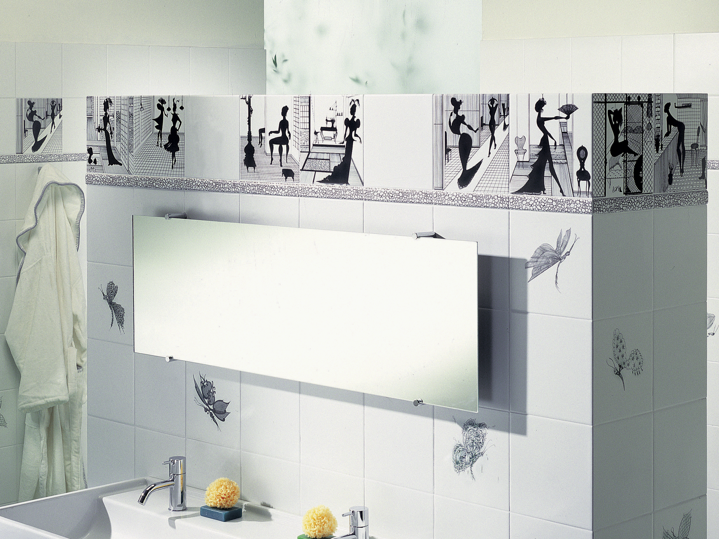 Rivestimento in ceramica madama butterfly by ceramica bardelli - Ceramica bardelli cucina ...