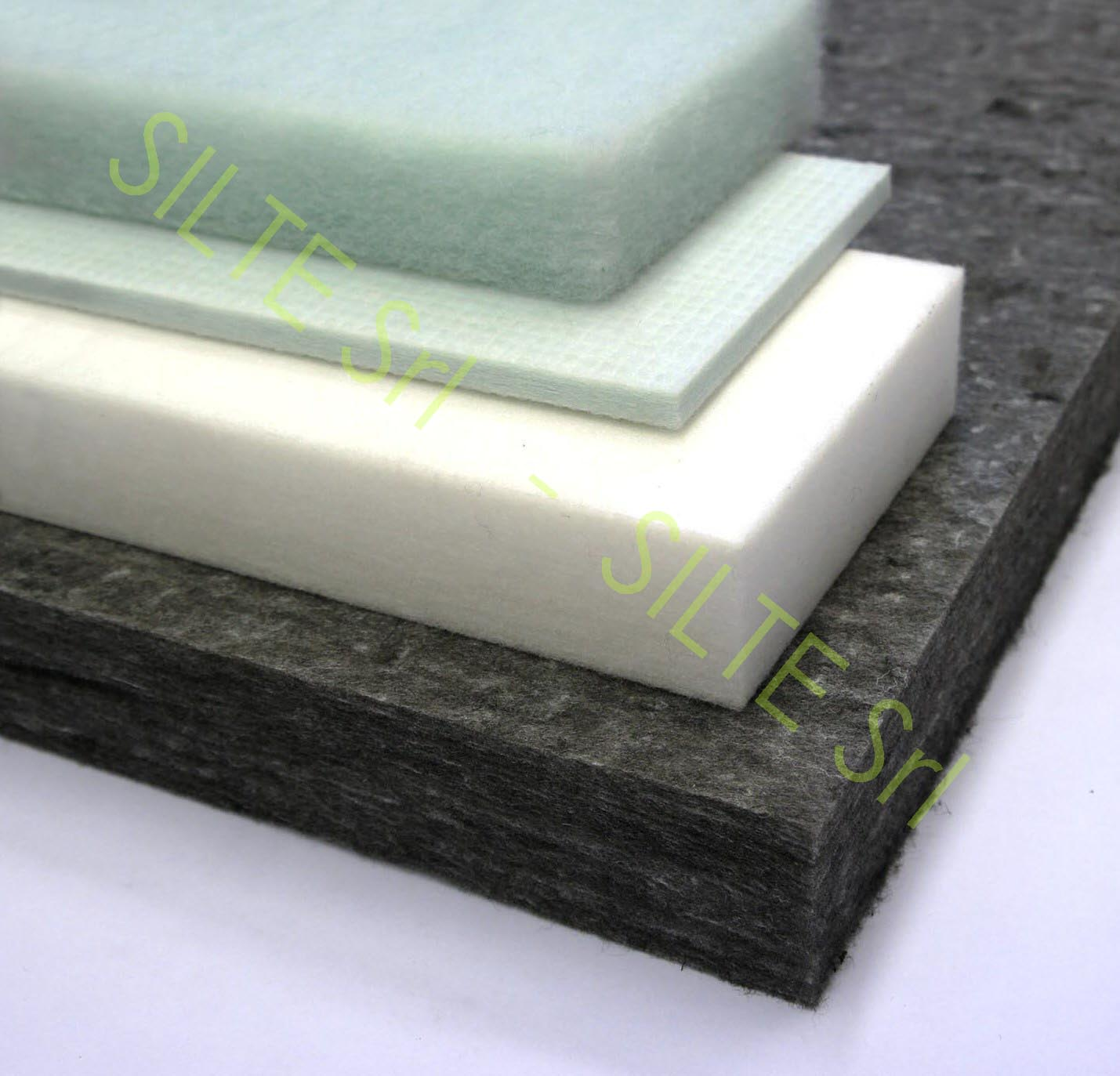 Sound Absorbing Insulation : Sound insulation and absorbing panel in mineral