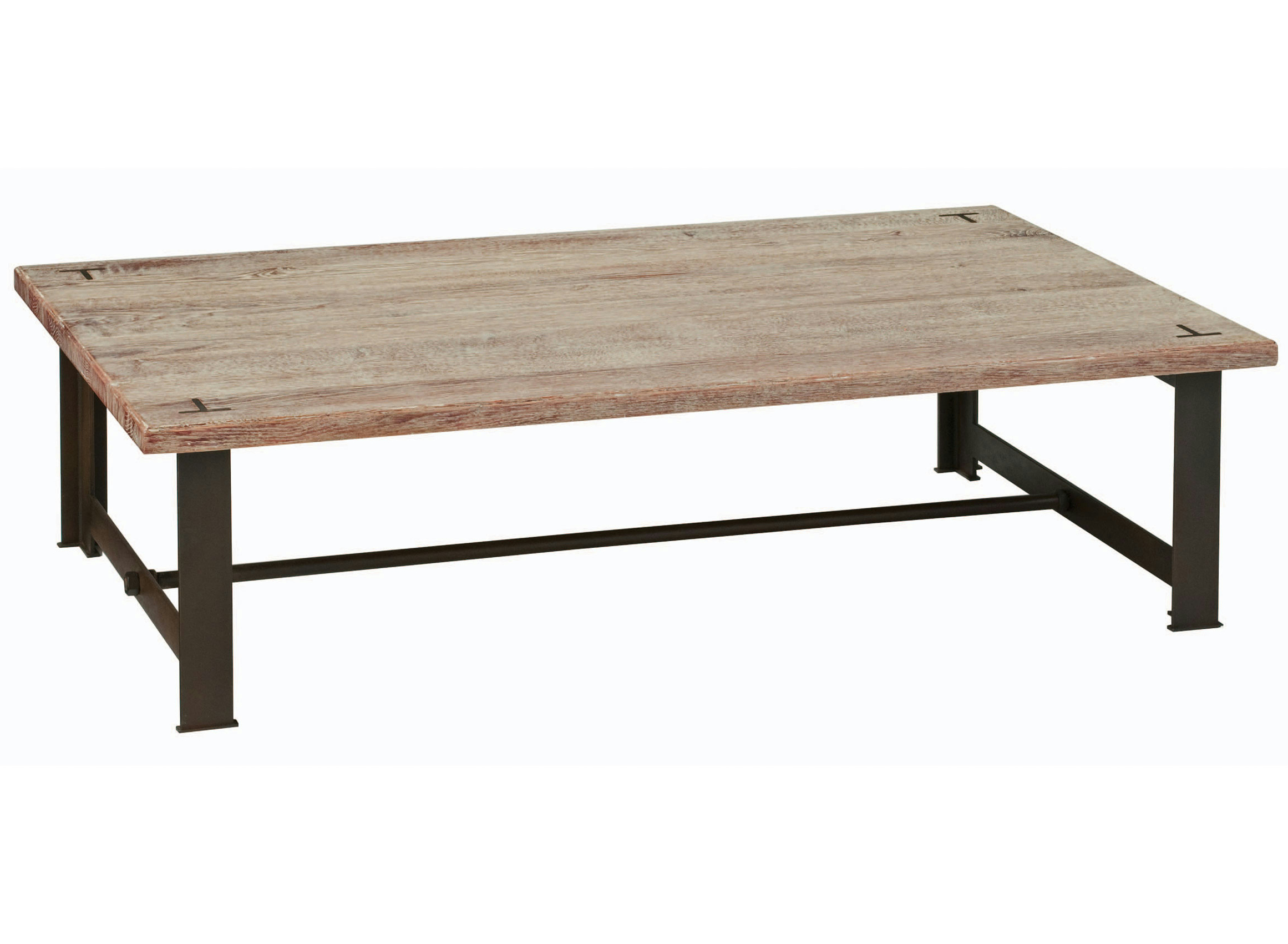 Rectangular oak coffee table maxime nouveaux classiques collection by roche bobois Roche bobois coffee table