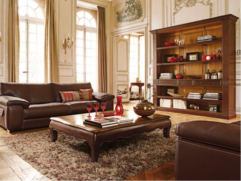 biblioth que ouverte en cerisier carrousel by roche bobois. Black Bedroom Furniture Sets. Home Design Ideas