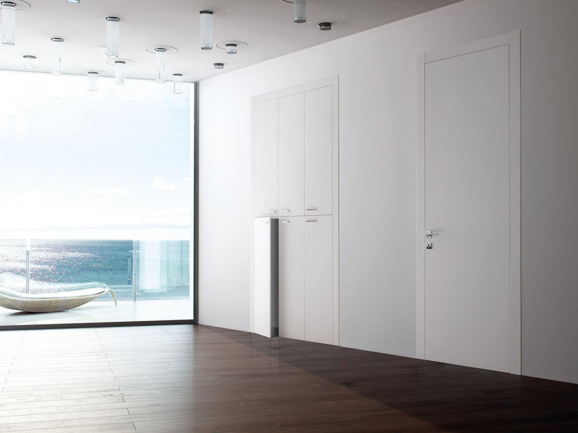 porte affleurante linear zero by ghizzi benatti. Black Bedroom Furniture Sets. Home Design Ideas