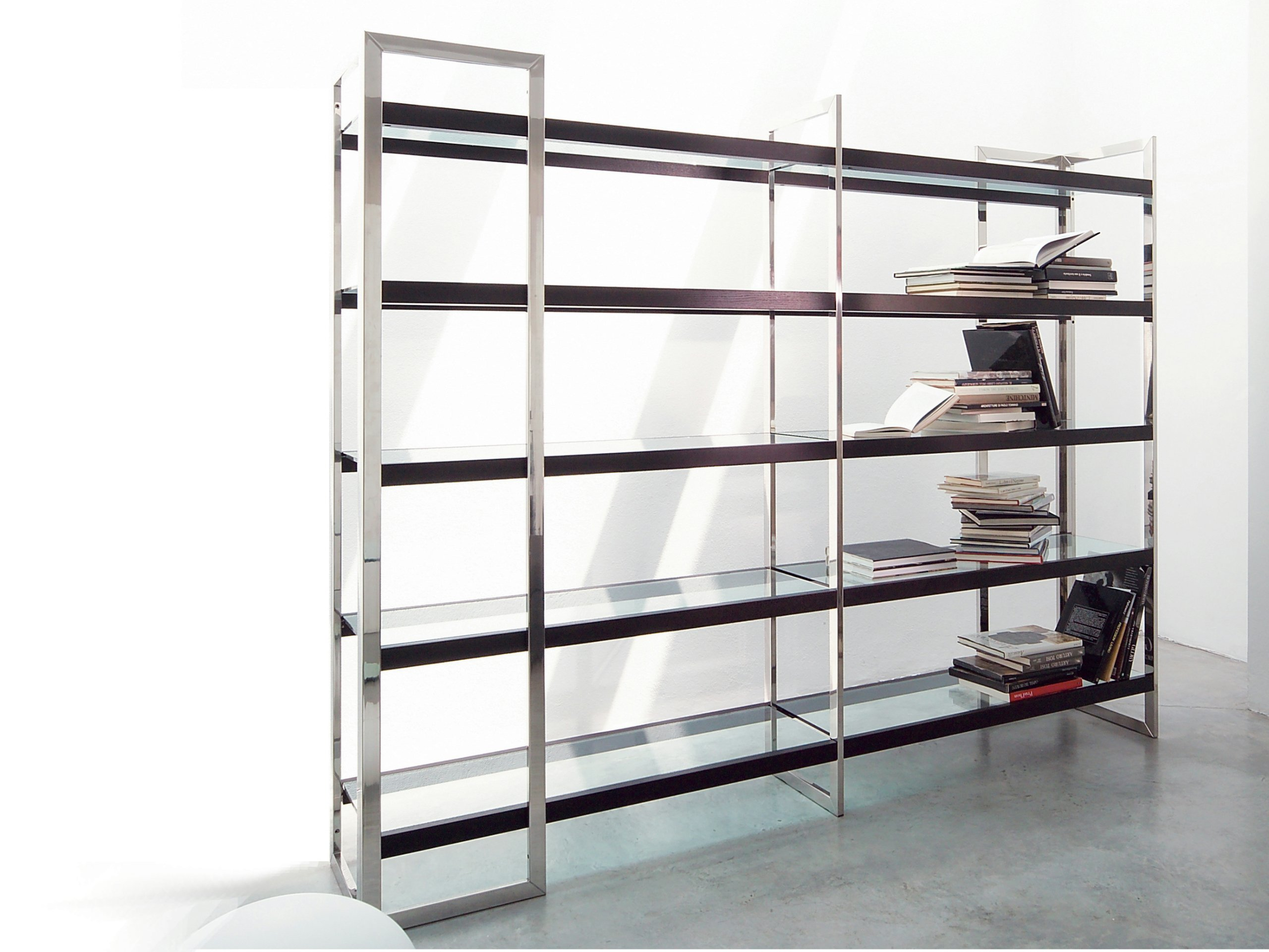 Stainless Steel Bookcase Dipsy By Gallotti Amp Radice Design