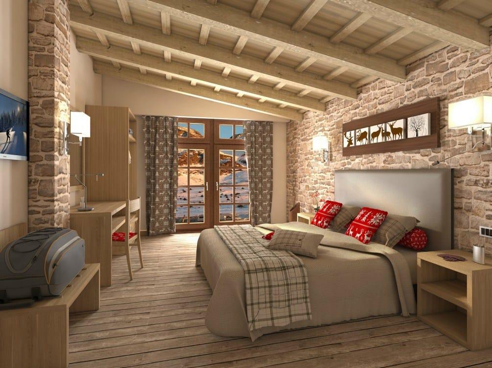 Arredamento per residence in stile moderno FASHION  Camera hotel ...