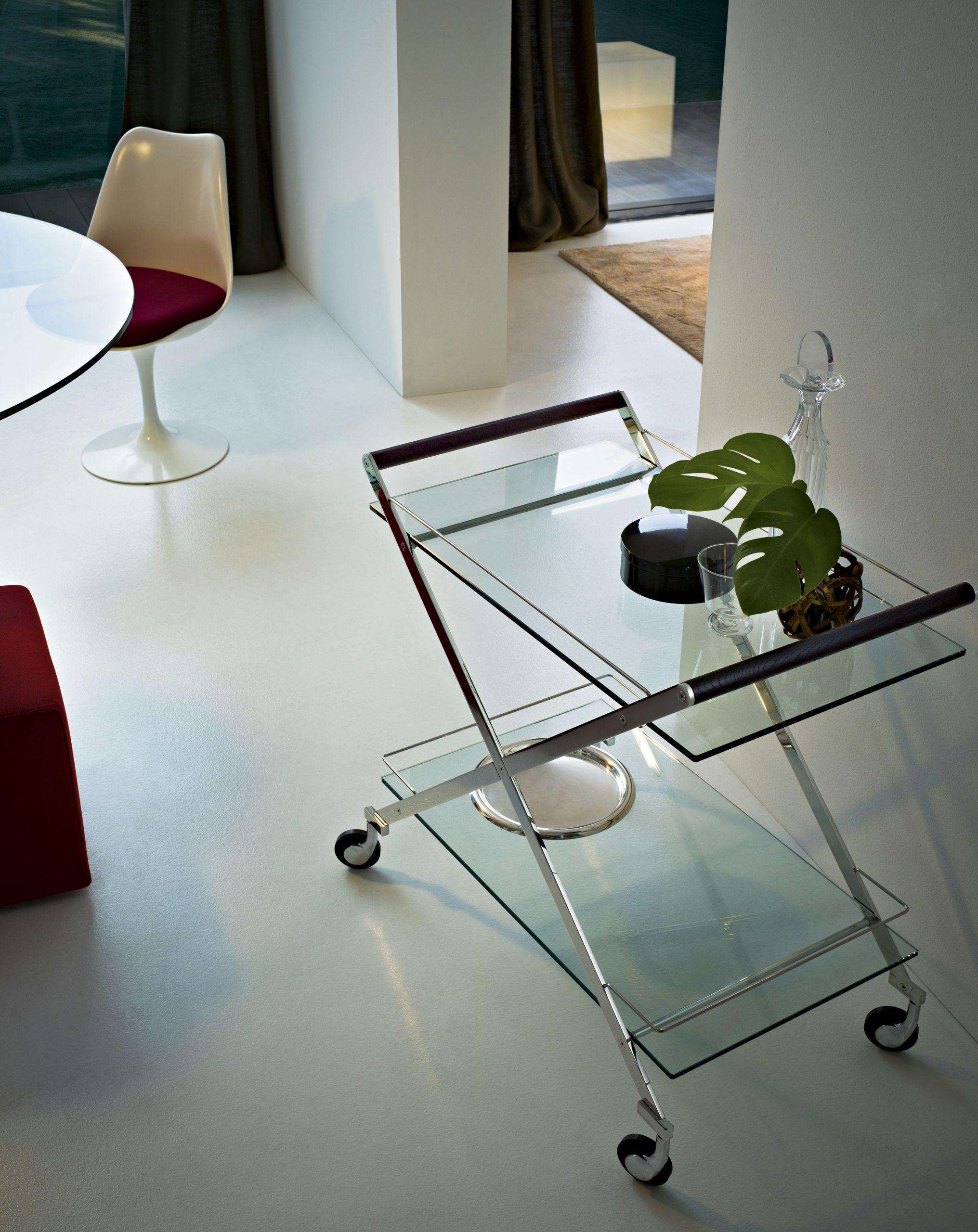 Carrello portavivande mister by gallotti radice design - Carrello portavivande design ...