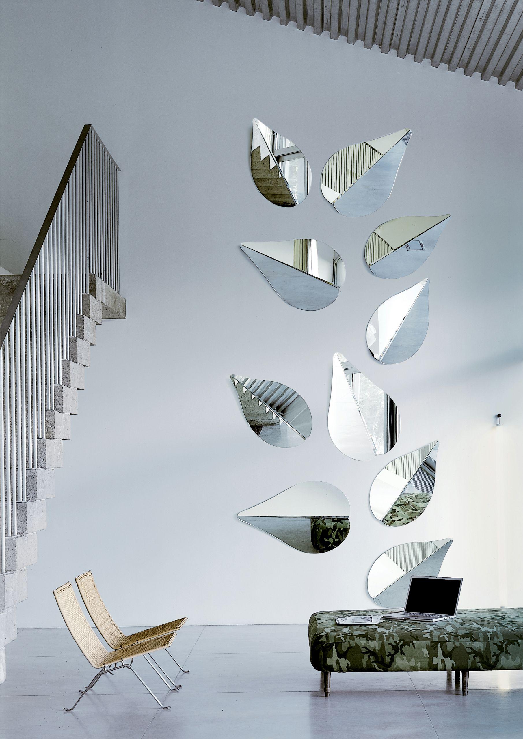 Specchio a parete spring by gallotti radice design ricardo - Parete a specchio ...
