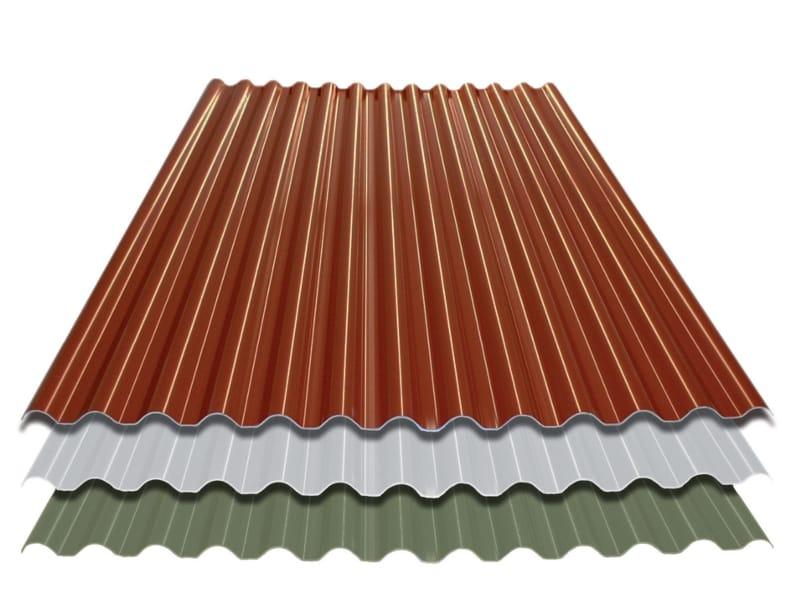 Cubierta de laminado pl stico ondulado ecolina by tecno imac for Plastico para tejados