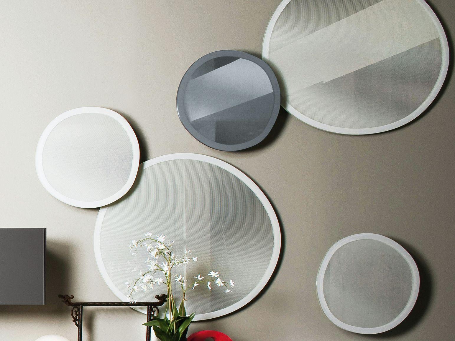 Espelho redondo taffy mirror by gallotti radice design for Decorar con espejos redondos