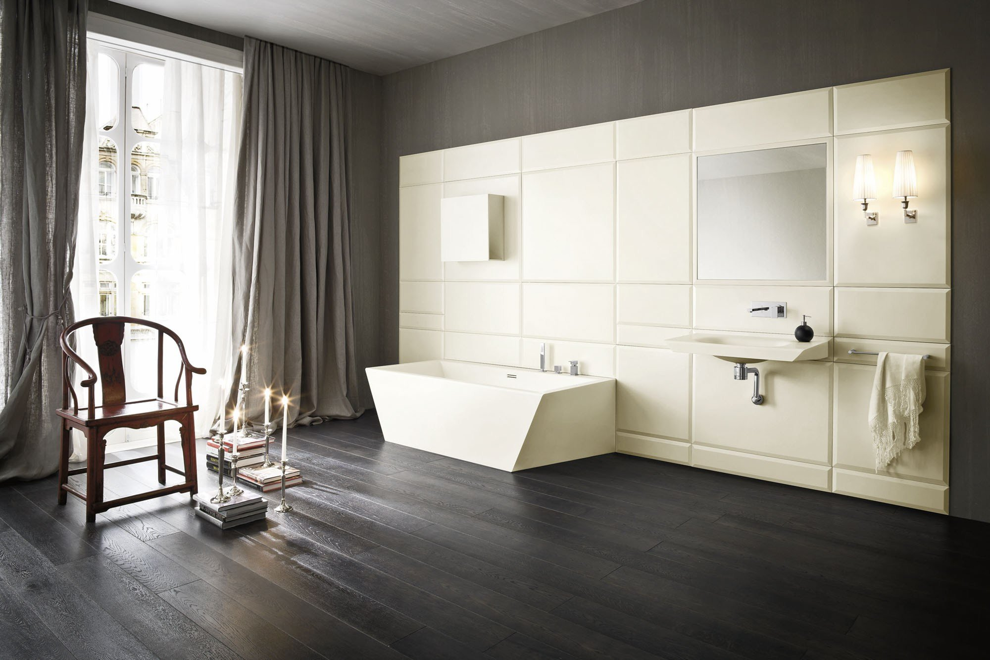 Warp badezimmer ausstattung by rexa design design carlo dal bianco - Badezimmer corian ...