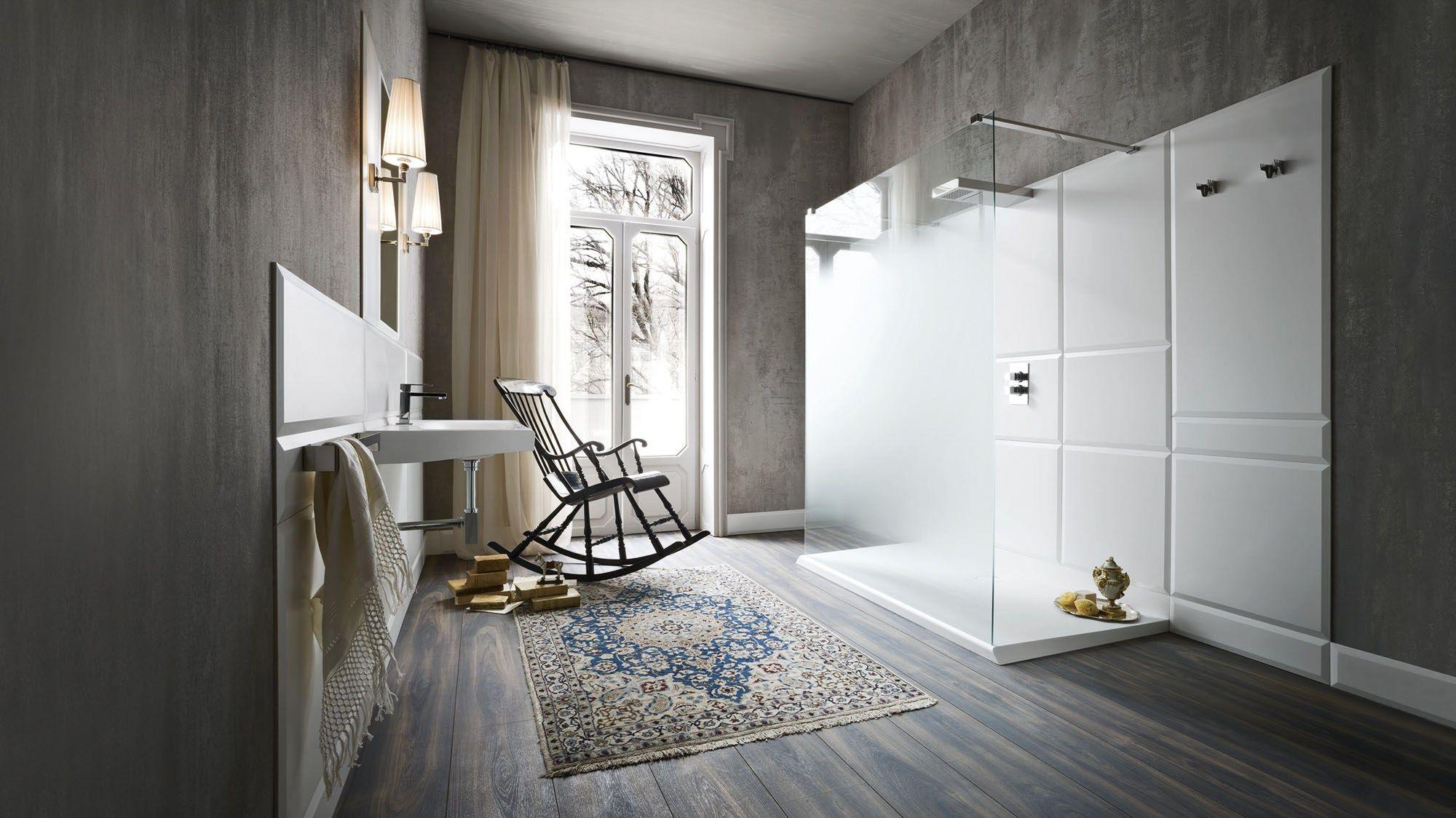 WARP Arredo bagno completo by Rexa Design design Carlo Dal Bianco