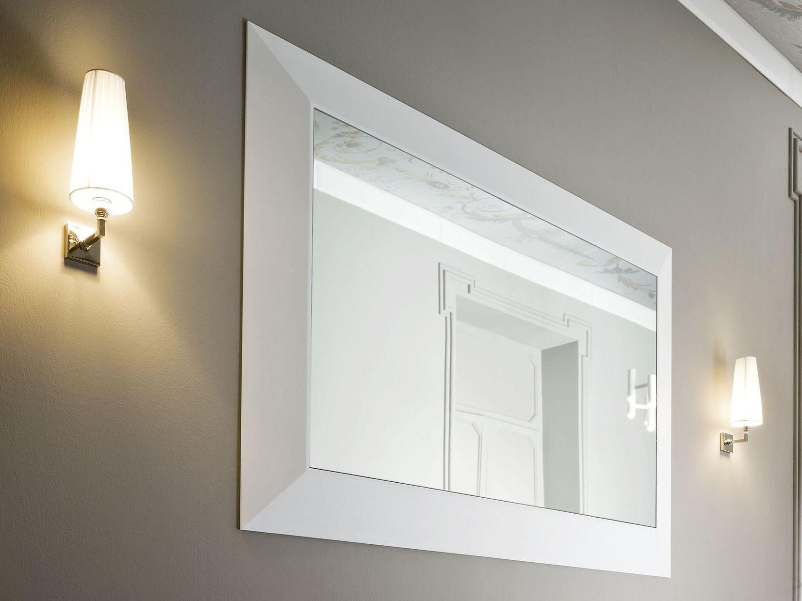 Warp specchio bagno by rexa design design carlo dal bianco - Specchio bagno design ...