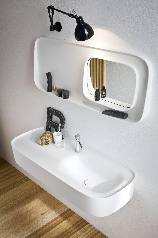 Fonte lavabo con piano by rexa design design monica graffeo - Illuminazione bagno design ...