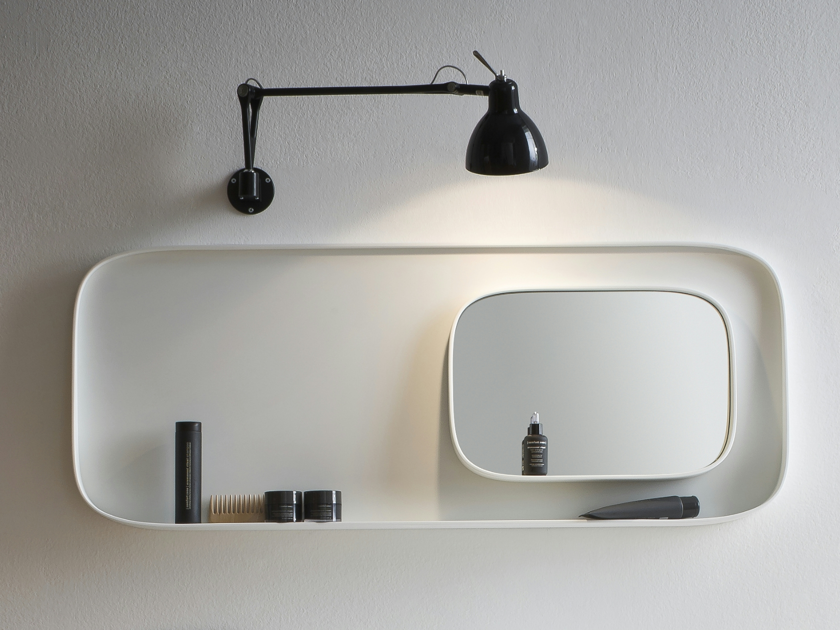 Fonte bathroom mirror by rexa design design monica graffeo for Mirror design