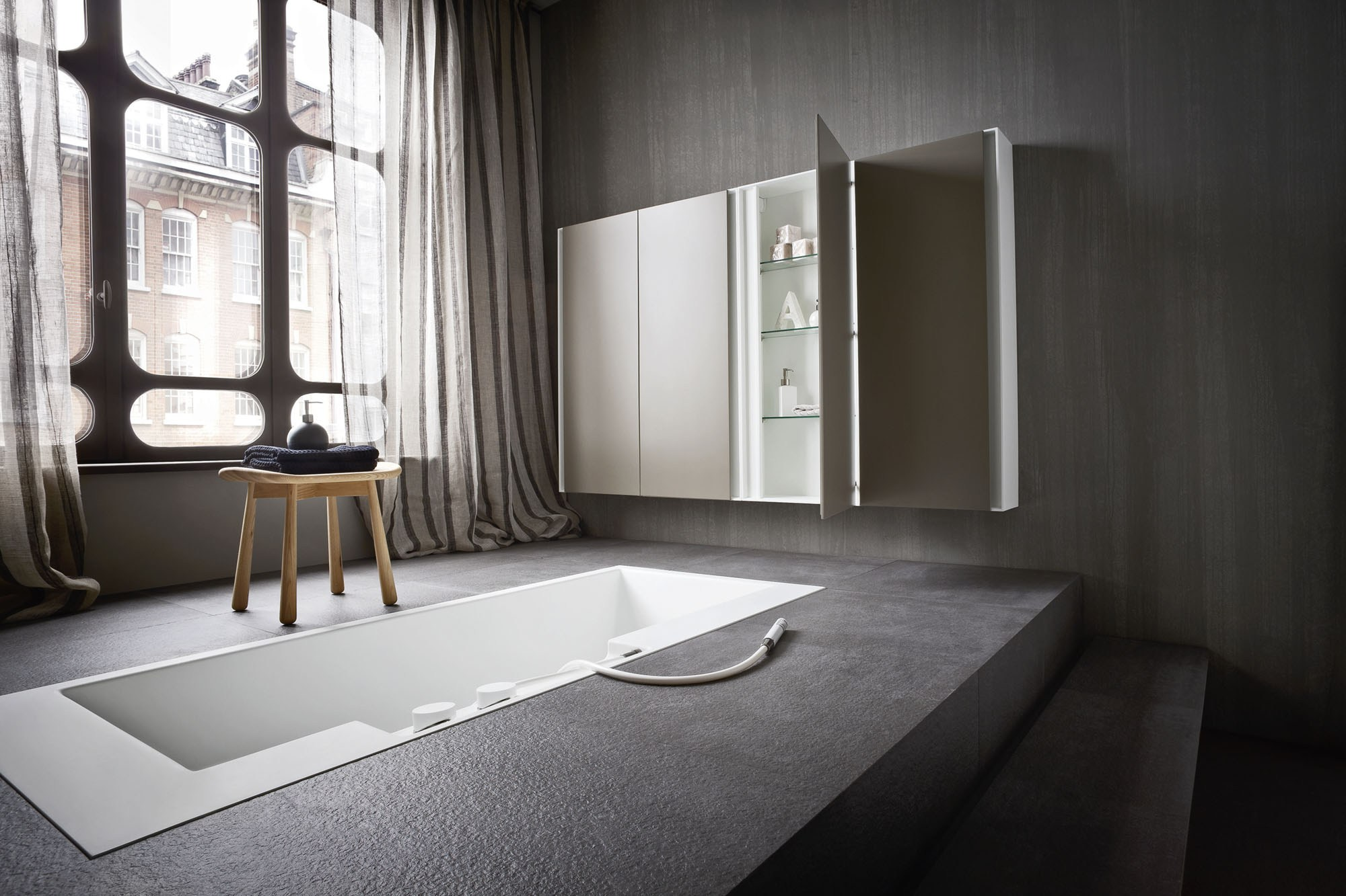 Ergo nomic vasca da bagno da incasso by rexa design design for Vasca bagno design
