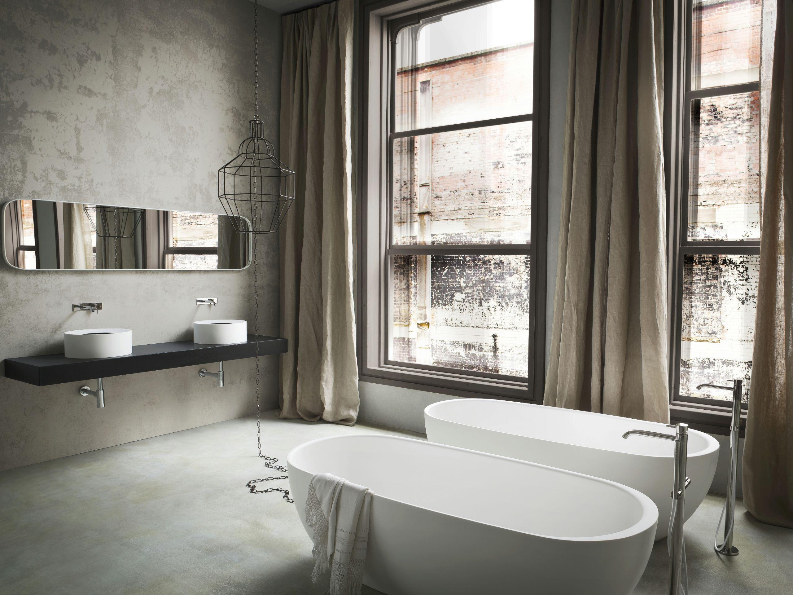 Hole vasca da bagno centro stanza by rexa design design susanna mandelli - Stanza da bagno ...