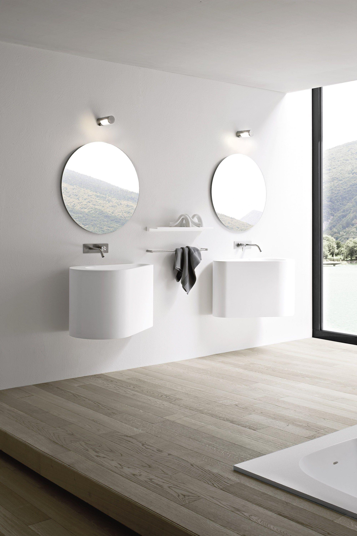 Hole specchio bagno by rexa design design susanna mandelli - Specchio bagno design ...