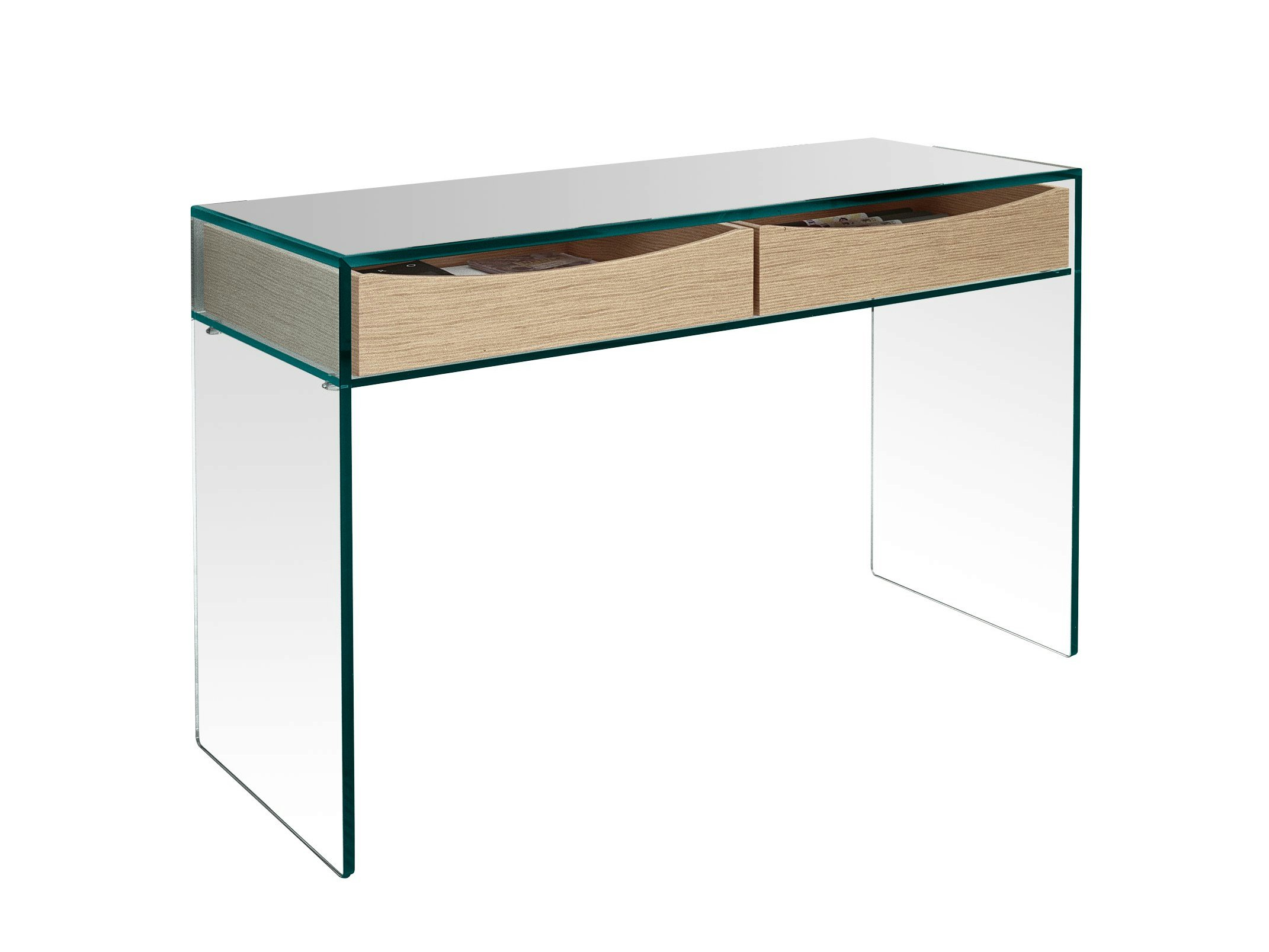bureau en verre gulliver 2 by t d tonelli design. Black Bedroom Furniture Sets. Home Design Ideas
