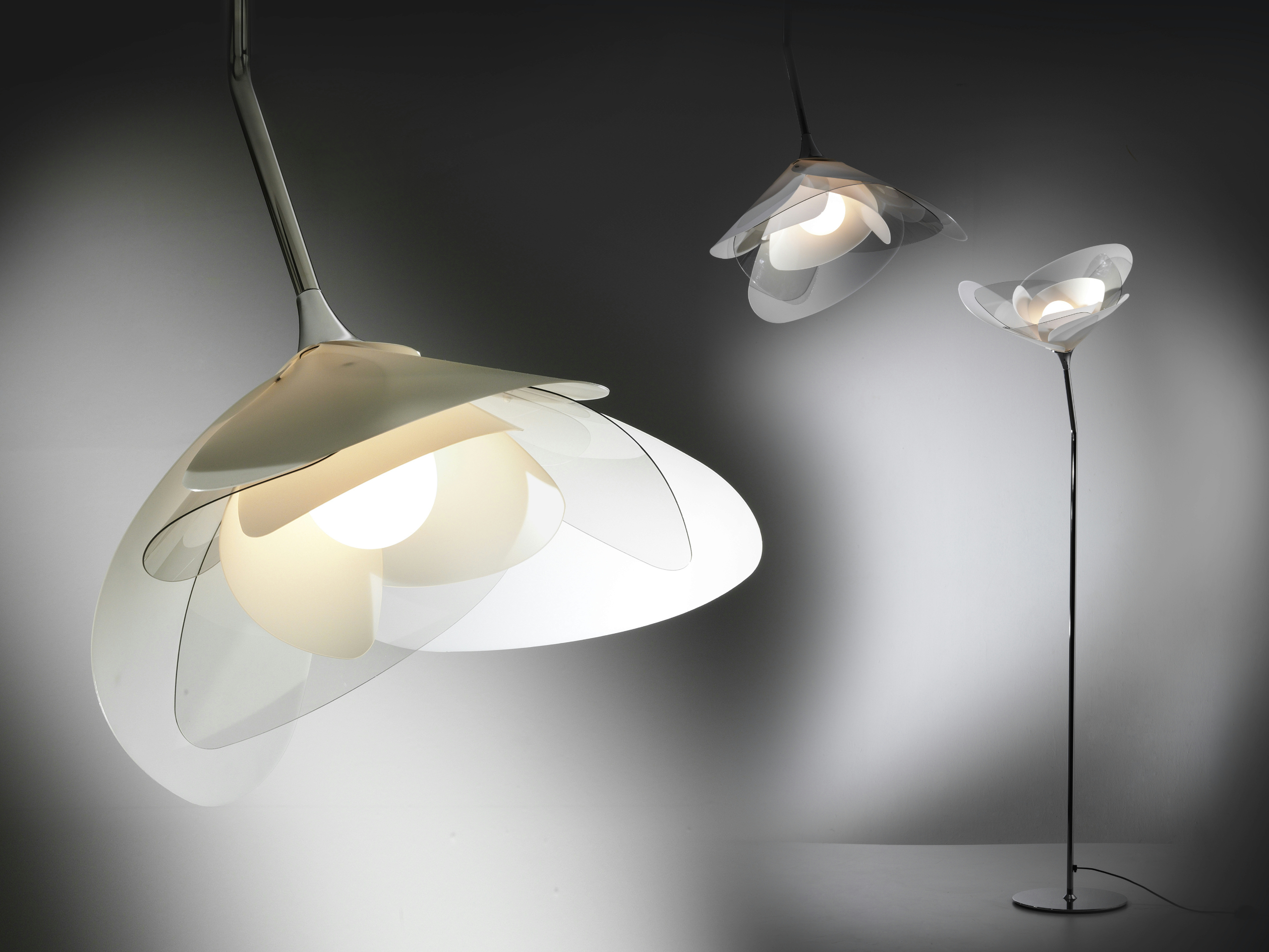GIRAFIORE Lampada a sospensione by Slamp design Elodie Longo