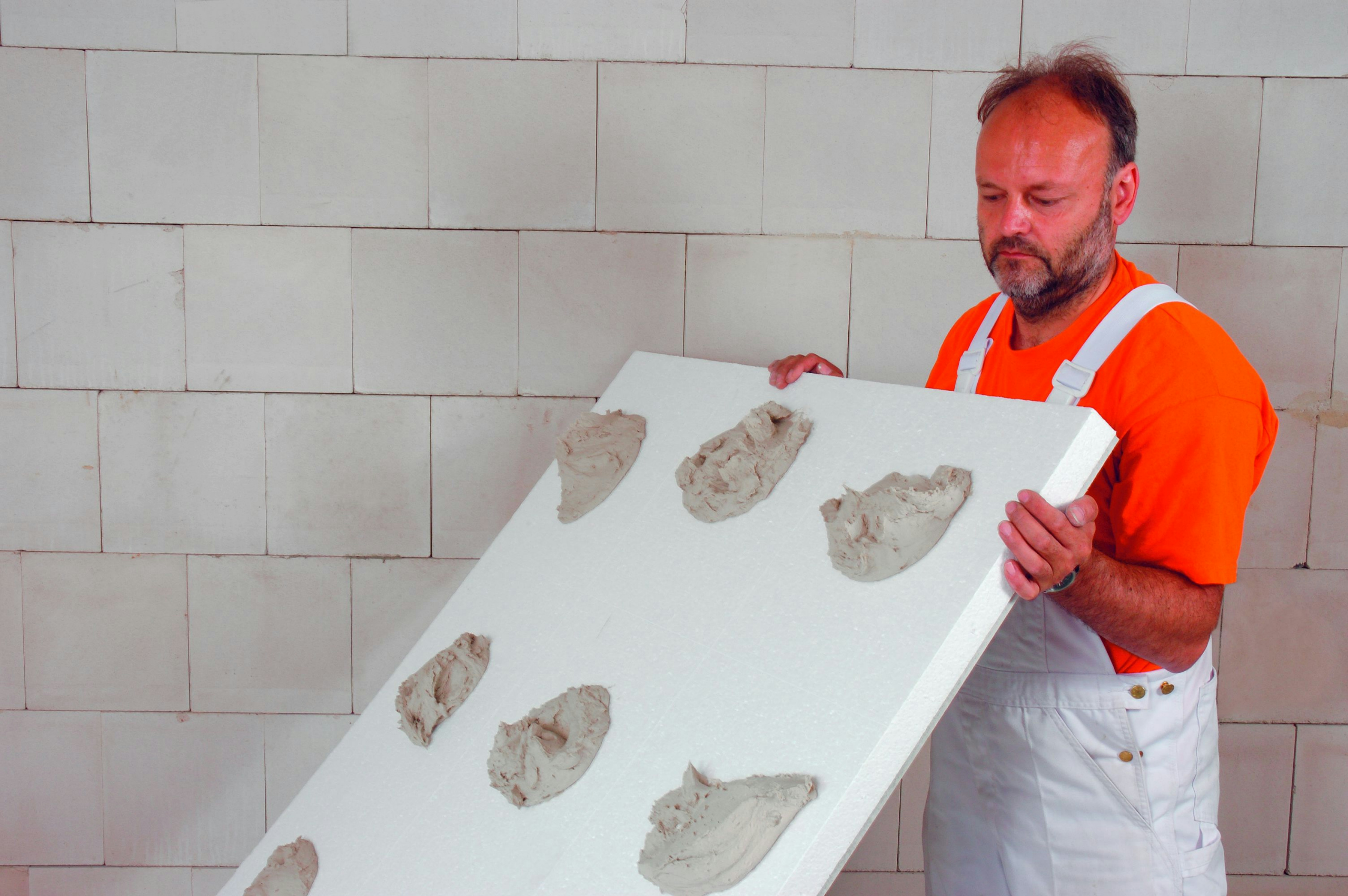 Placa de cart n yeso para aislamiento t rmico lastre - Instalacion de pladur en paredes ...