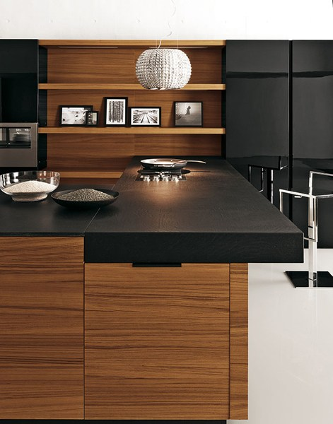 cuisine en teck yara composition 6 by cesar arredamenti. Black Bedroom Furniture Sets. Home Design Ideas