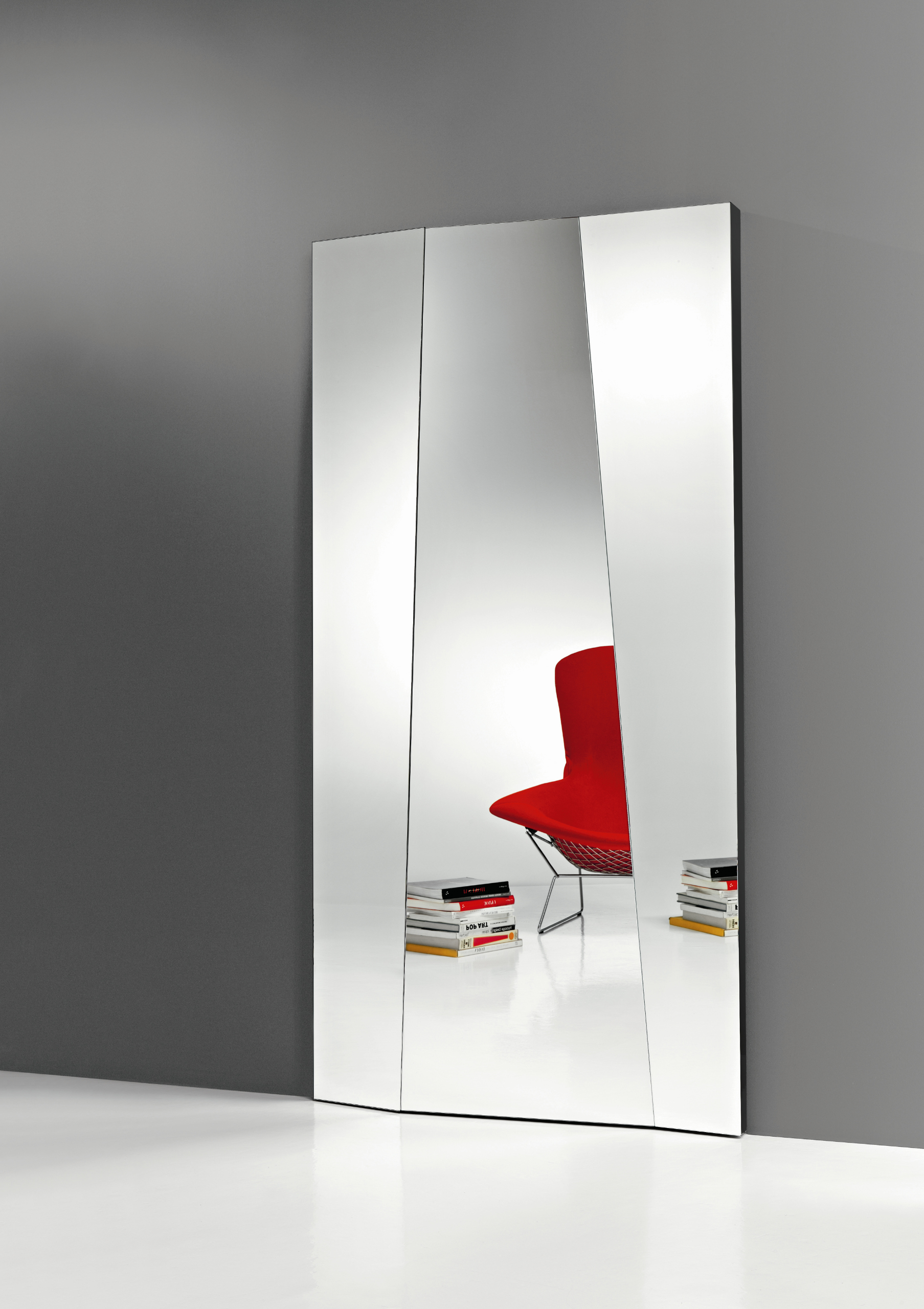 Wall Mounted Rectangular Mirror Autostima By T D Tonelli