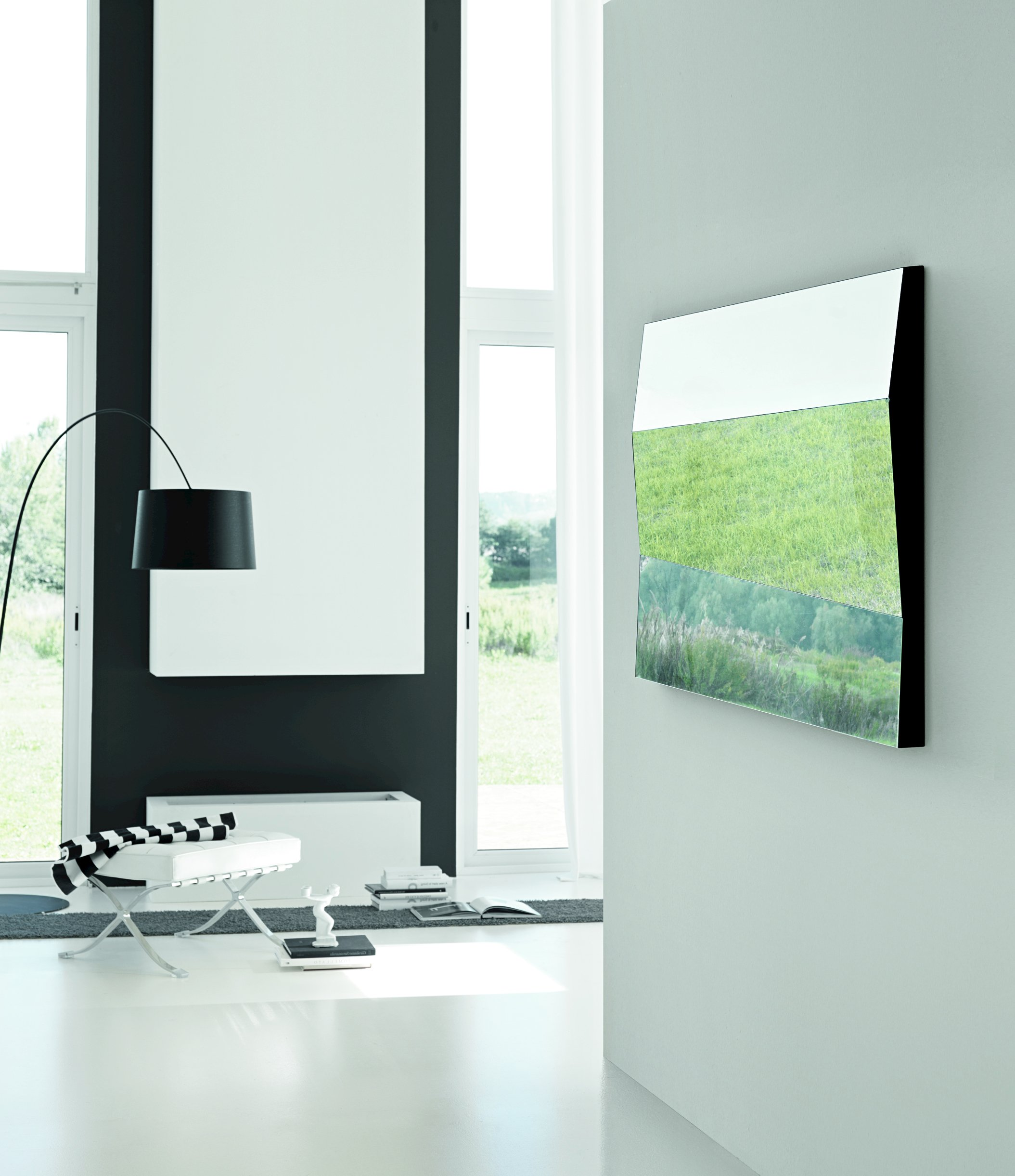 miroir mural rectangulaire autostima by t d tonelli. Black Bedroom Furniture Sets. Home Design Ideas