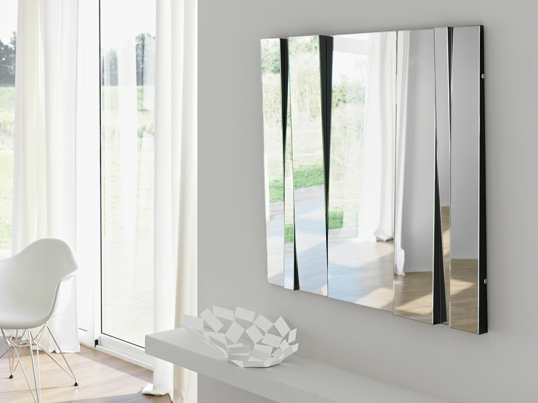 Espejo rectangular de pared fittipaldi by t d tonelli - Espejos para pared ...