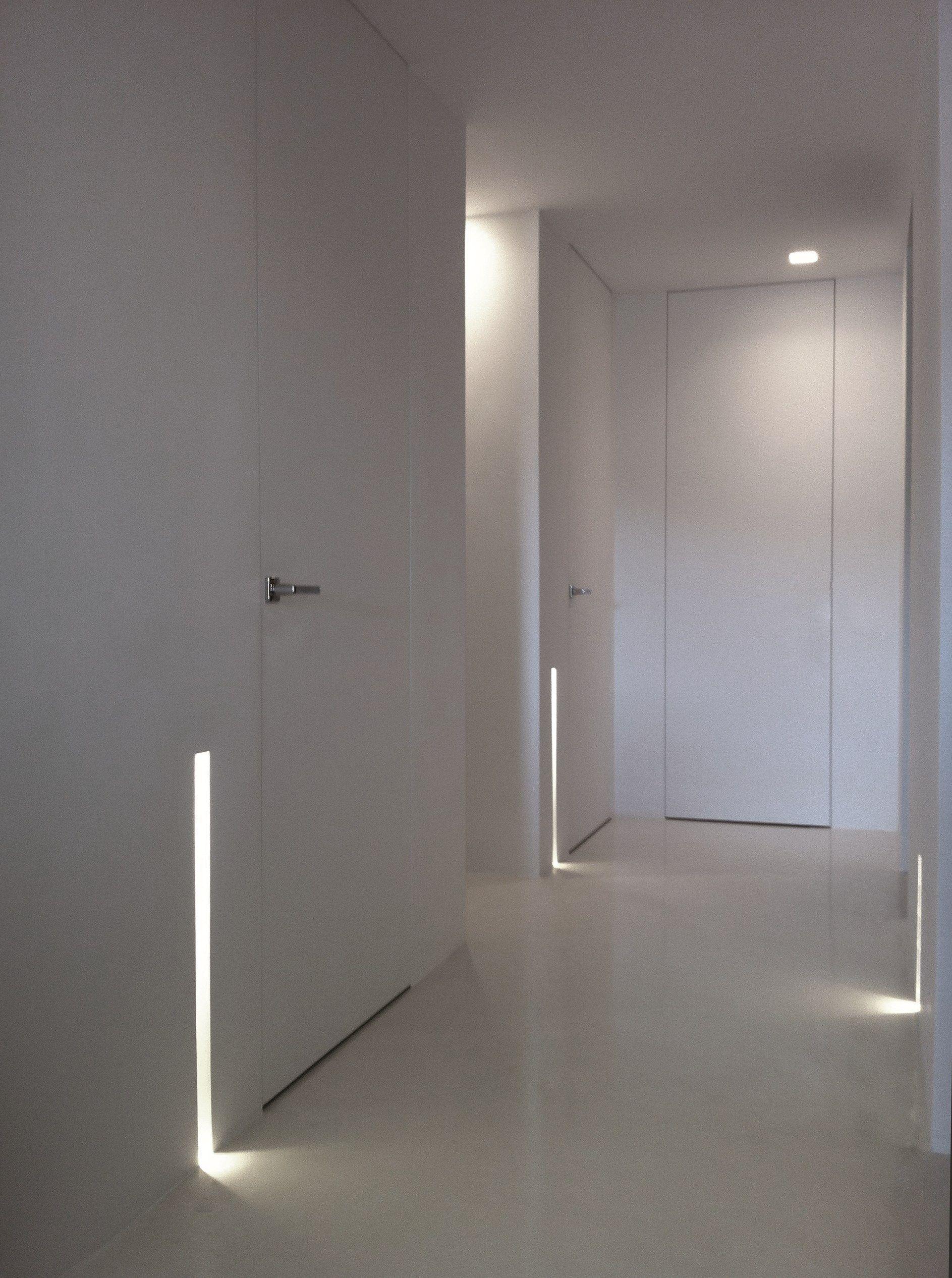 LED AirCoral® built-in lamp BLADE by Buzzi & Buzzi design LO STUDIO MAMMINI CANDIDO