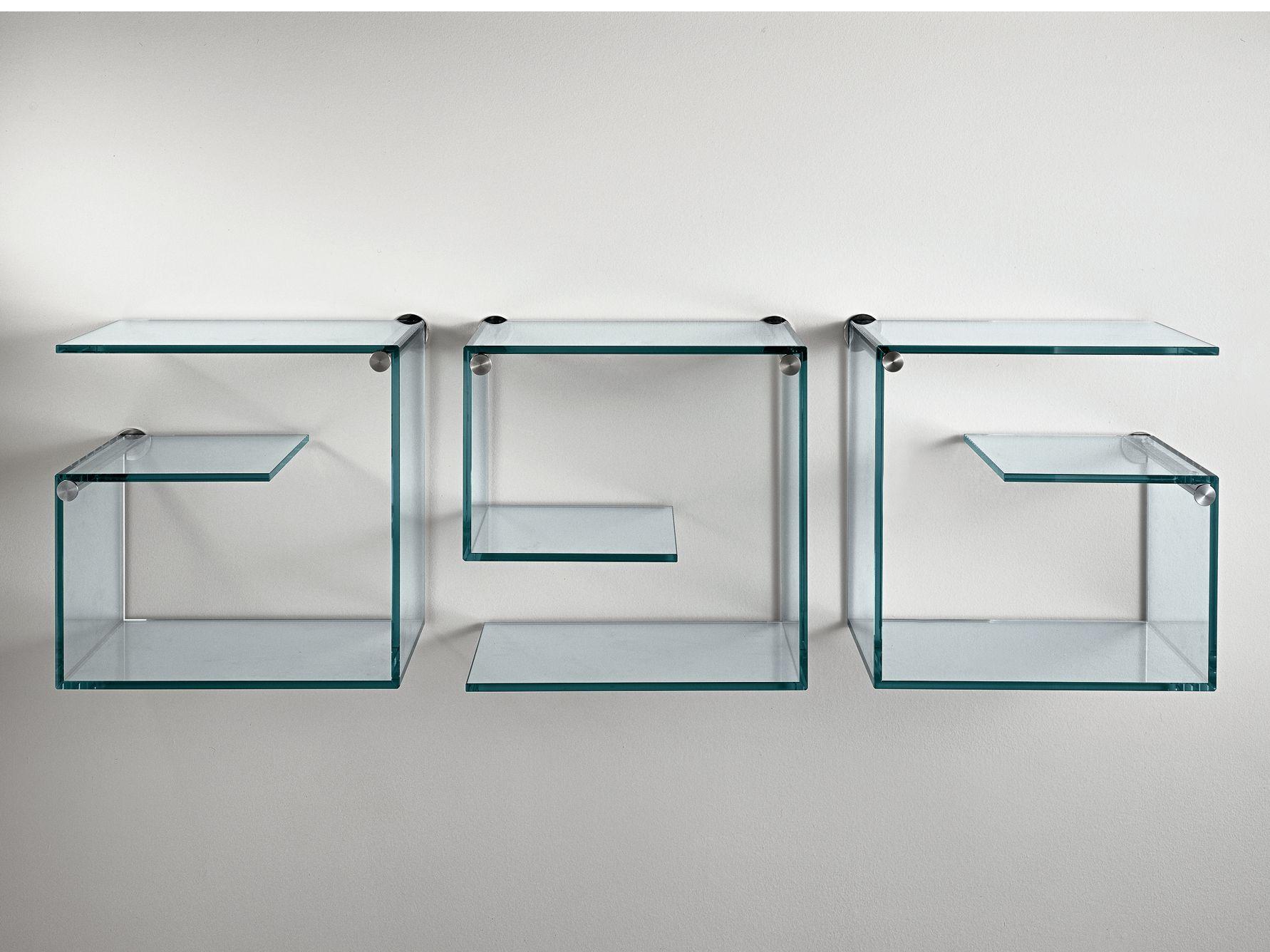 biblioth que murale en verre alfabeta by t d tonelli. Black Bedroom Furniture Sets. Home Design Ideas