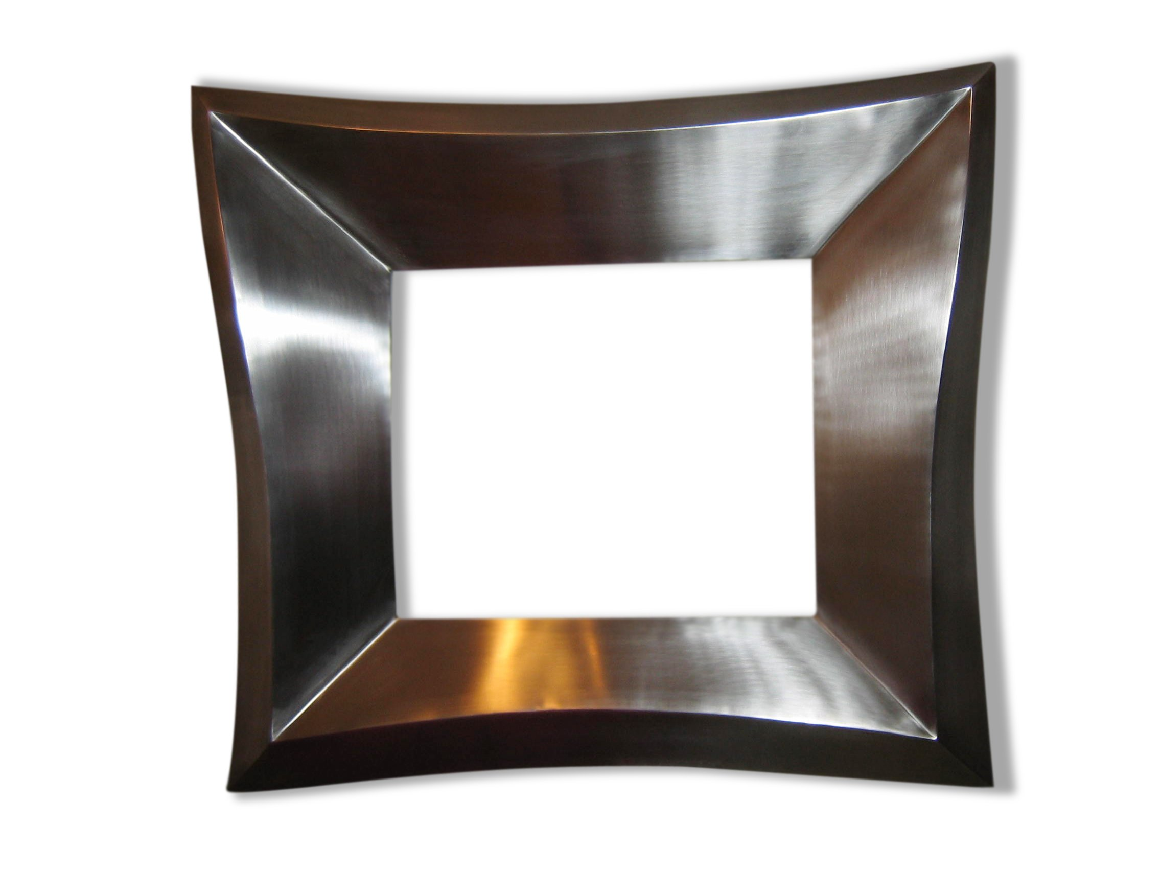 miroir carr avec cadre marco by ici et l design ici et l barcelona. Black Bedroom Furniture Sets. Home Design Ideas