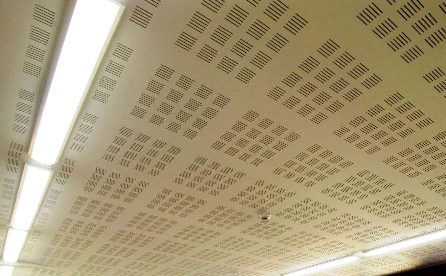 faux plafond acoustique en placo lastra sf 8 12 50r lastra vf 8 12 50r by fibran. Black Bedroom Furniture Sets. Home Design Ideas