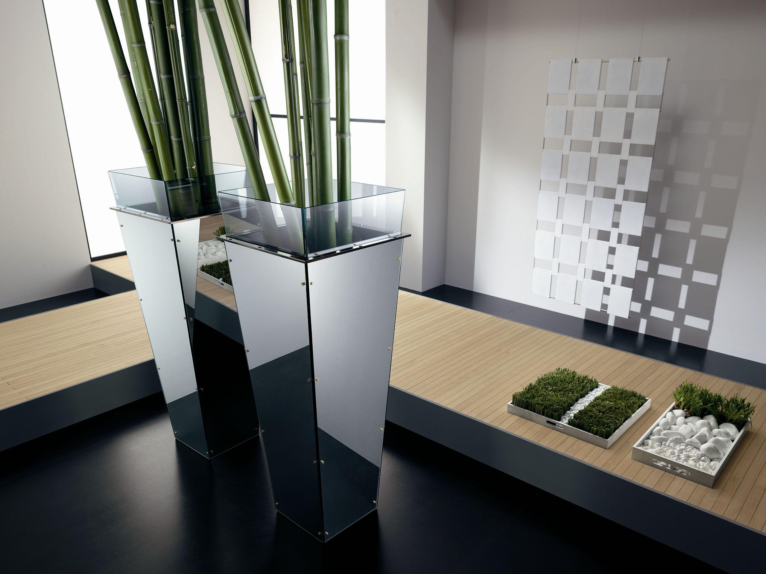 Florero de vidrio amon by t d tonelli design dise o - Floreros modernos ...