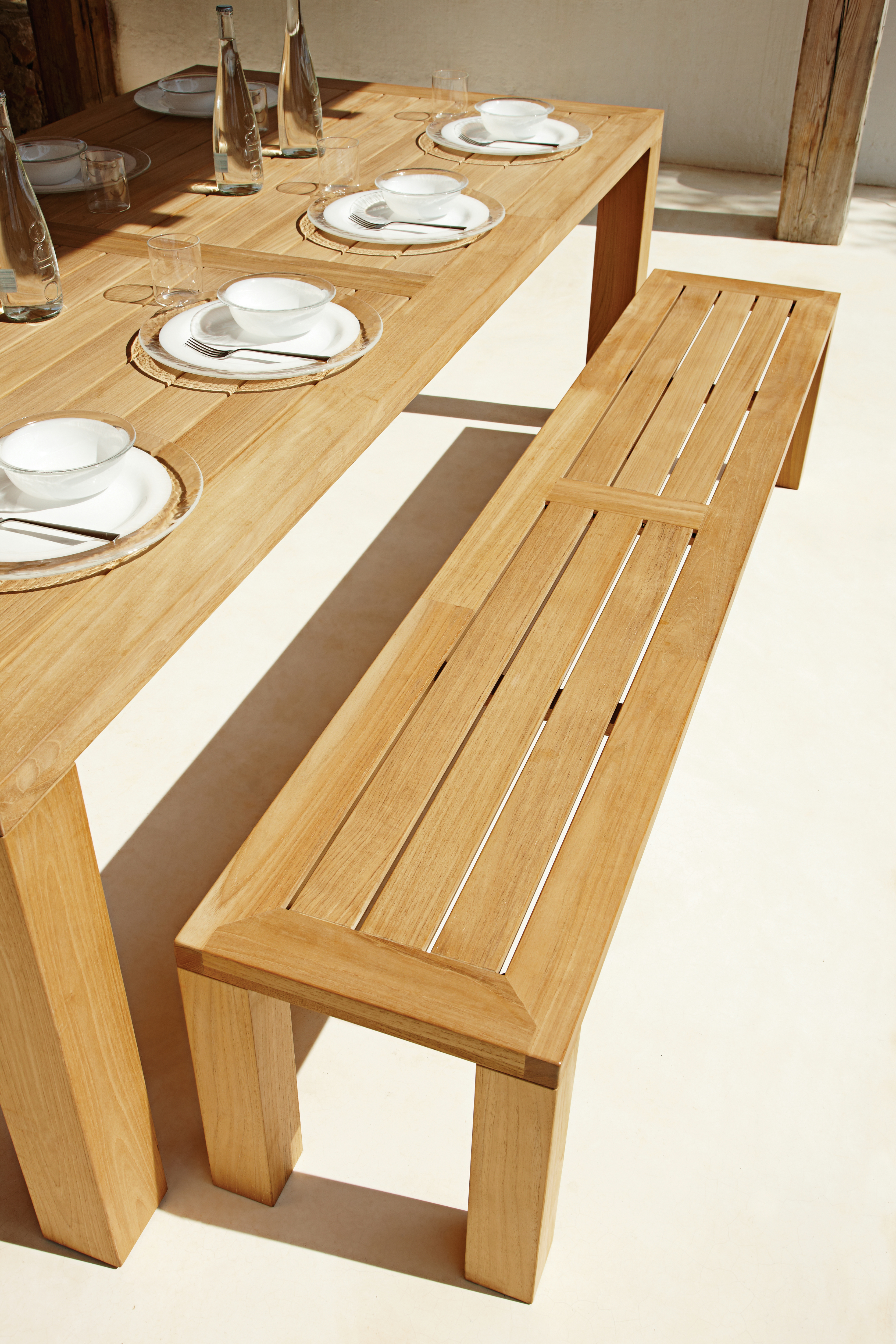 SQUARE | Garden bench By Gloster design Povl Eskildsen