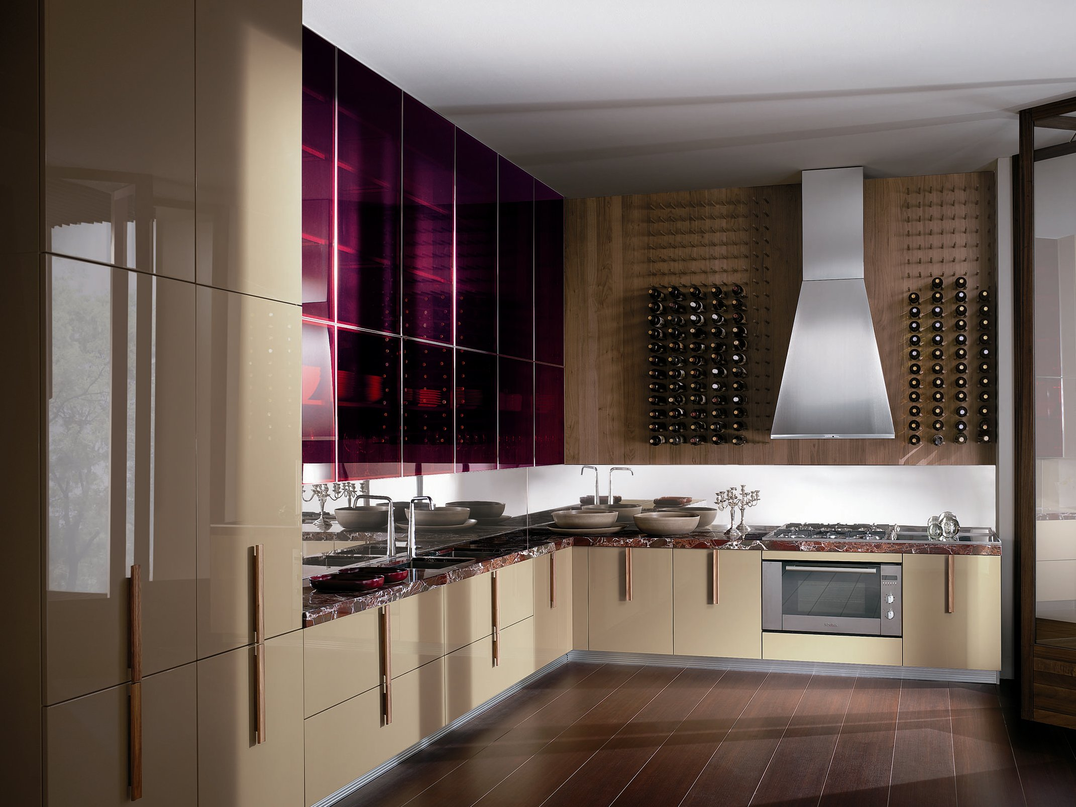 barrique cucina in marmo by ernestomeda