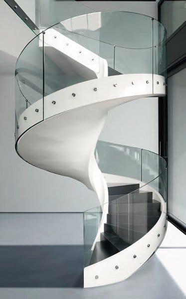Escalier en colima on h lico dal helix by casali - Escaliers en colimacon ...