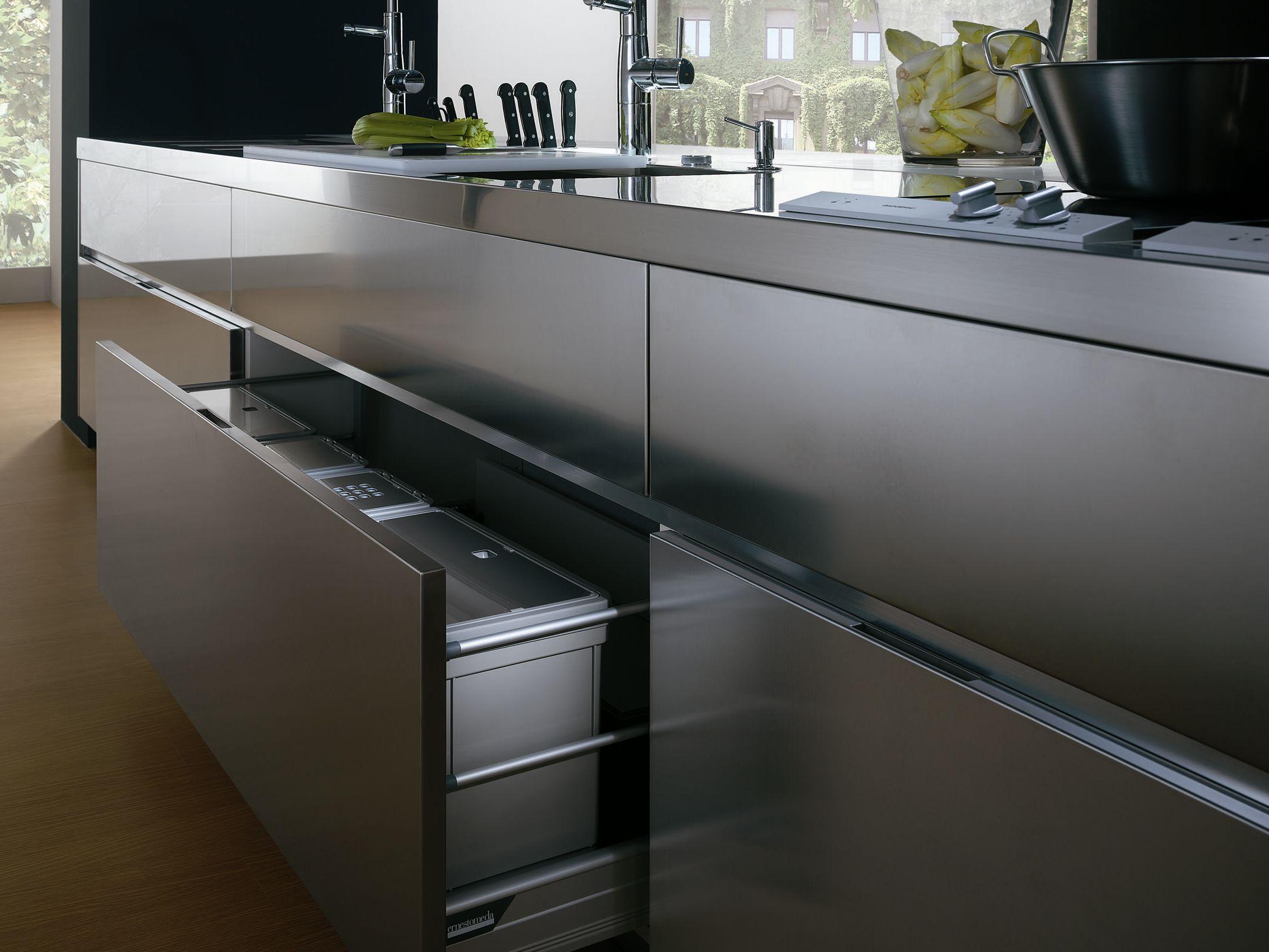 Wunderbar Stahl Küchenmöbel Galerie - Küchenschrank Ideen ...