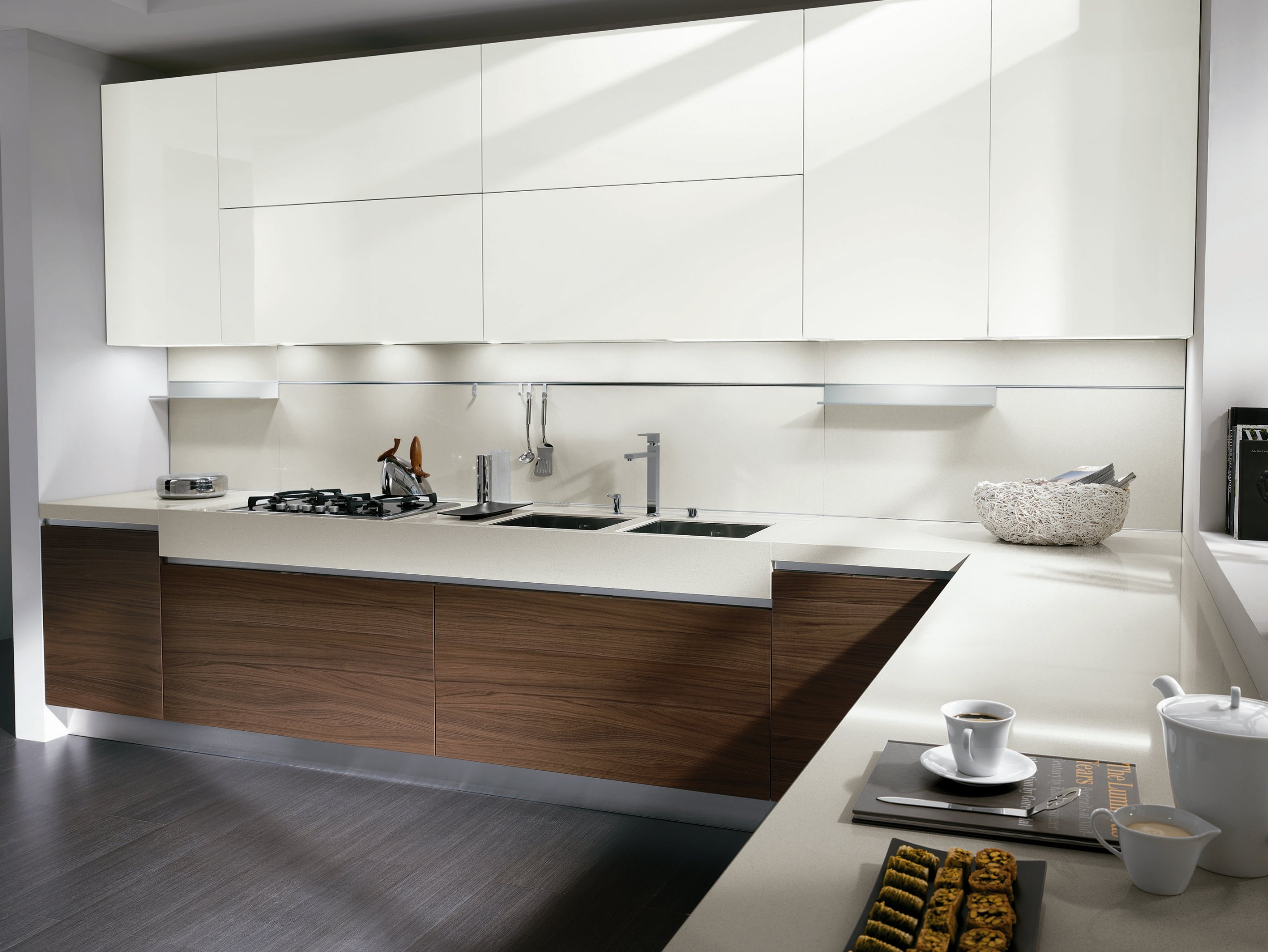 Walnut kitchen elektra new classic by ernestomeda design - Ernesto mera ...