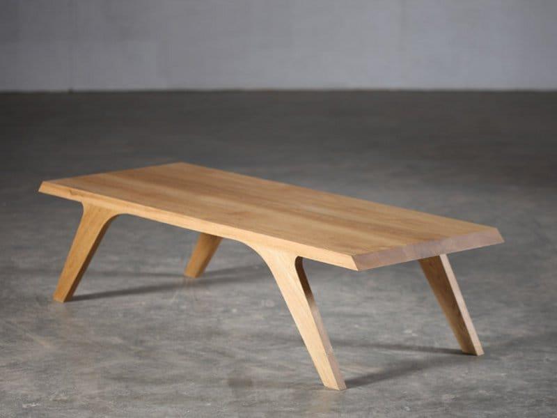 Couchtisch aus Holz UNO by Artisan Design Gabriella Bellon
