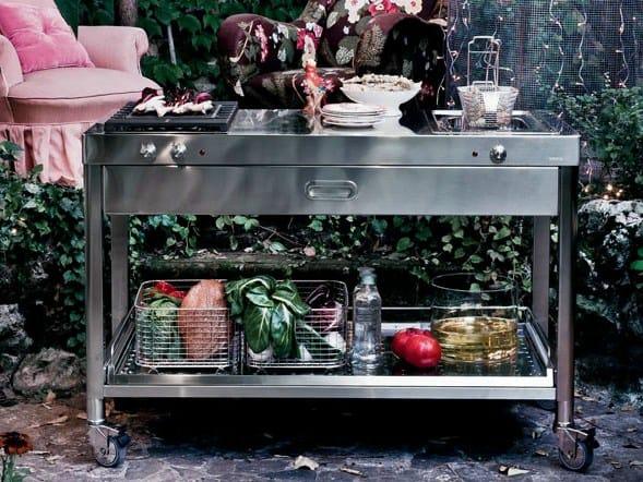 Liberi in cucina outdoork che by alpes inox design nico moretto - Liberi in cucina ...