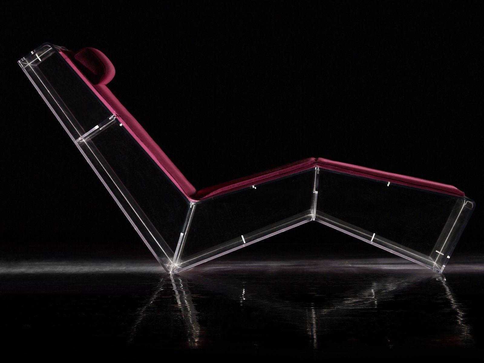 Pmma Lounge Chair Spacebook By La Maison Turrini Design