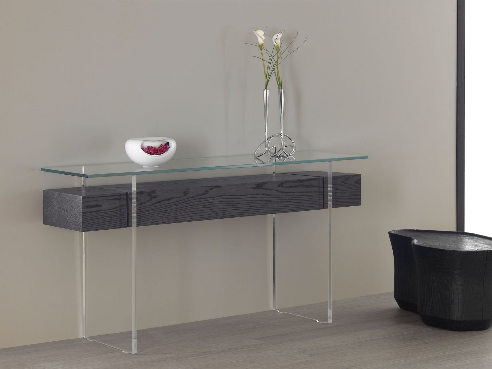 Smos table console by la maison turrini design erwan peron - La table console ...
