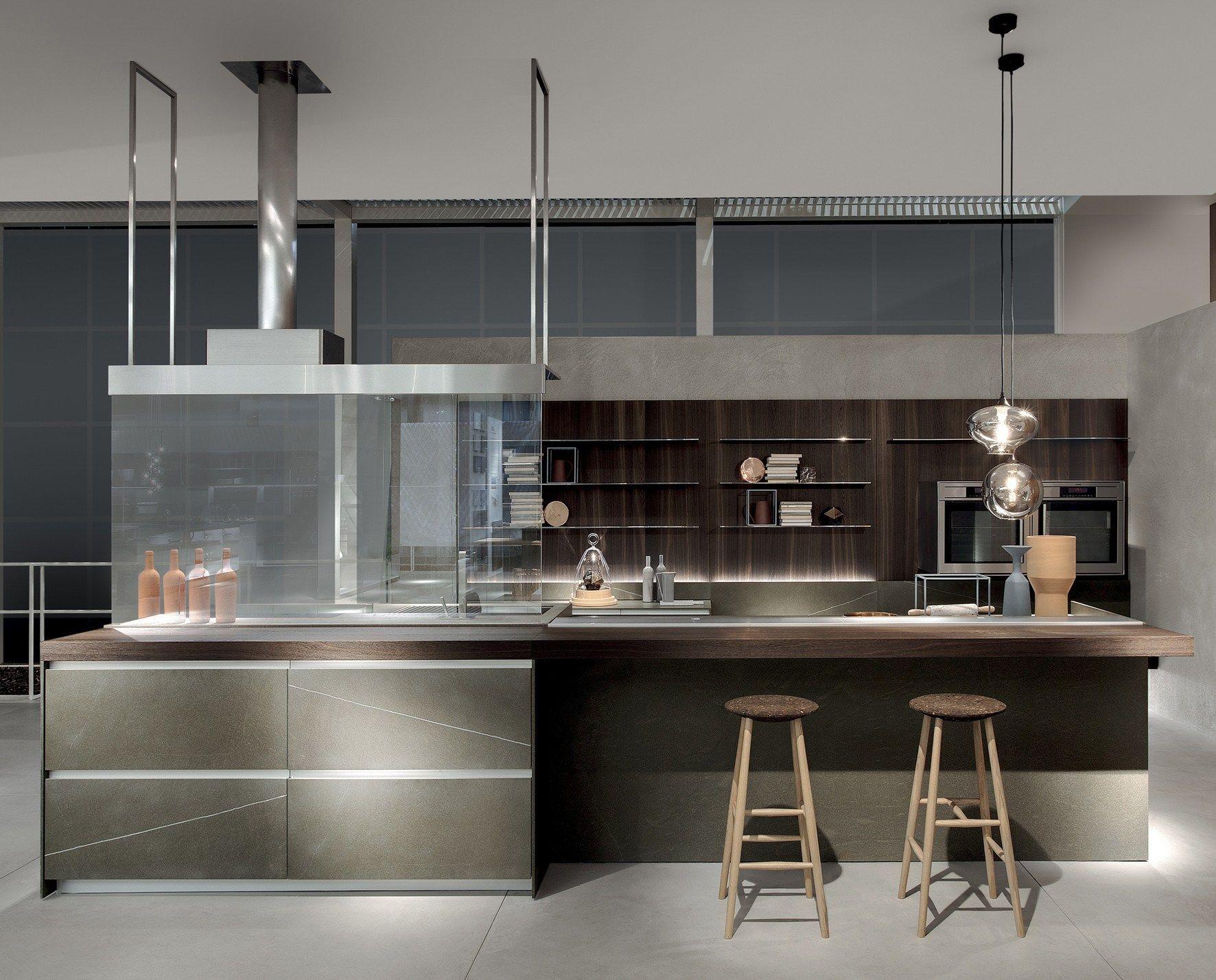 Cucina senza maniglie icon by ernestomeda design giuseppe - Cucina senza maniglie ...