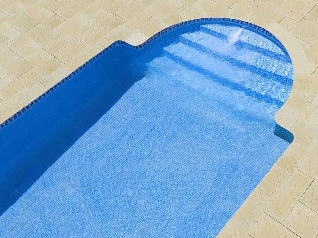Dordogne borde para piscina by sas italia aldo larcher for Bordes decorativos para piscinas