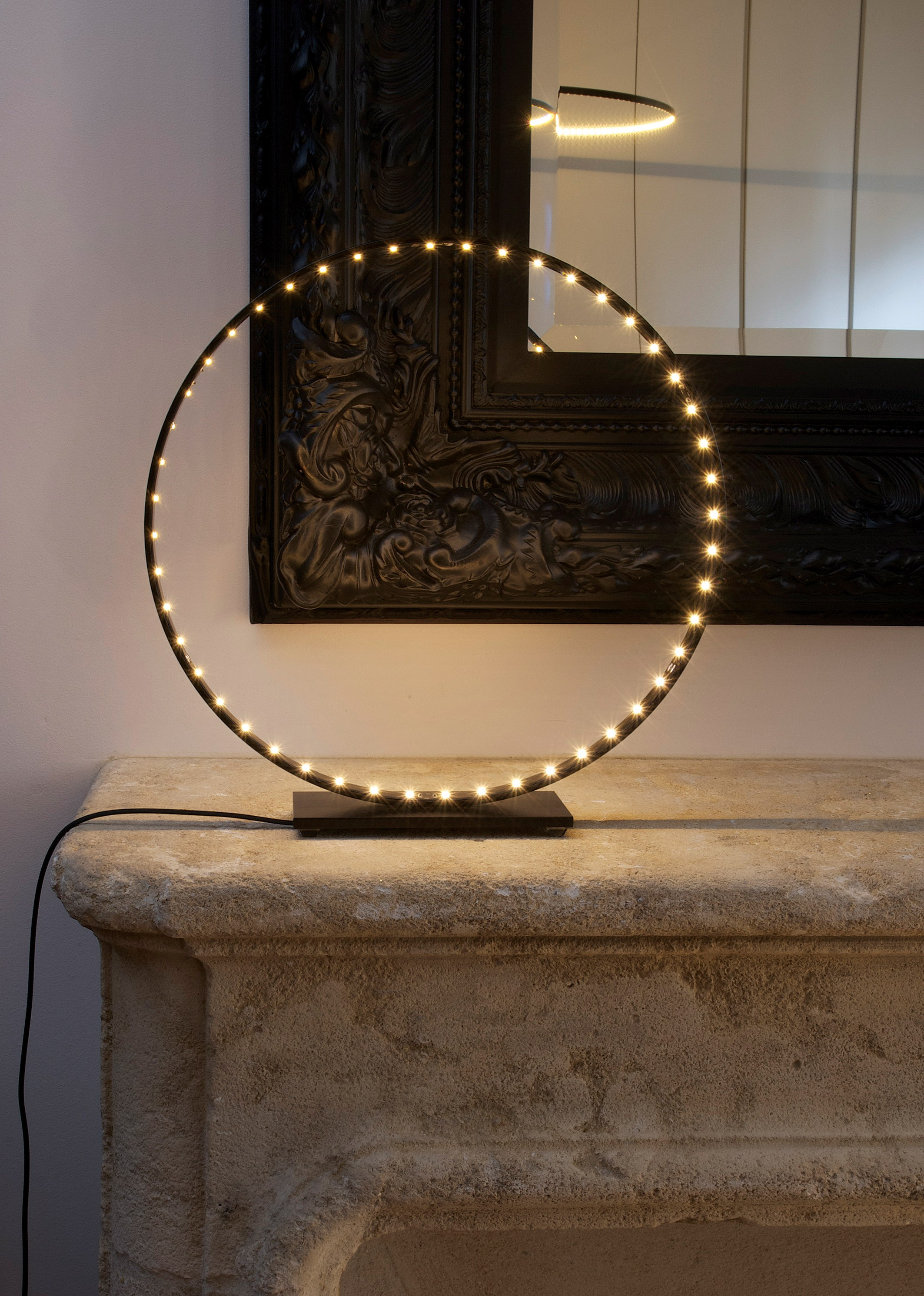 led direct indirect light table lamp la micro 30 by le deun luminaires. Black Bedroom Furniture Sets. Home Design Ideas
