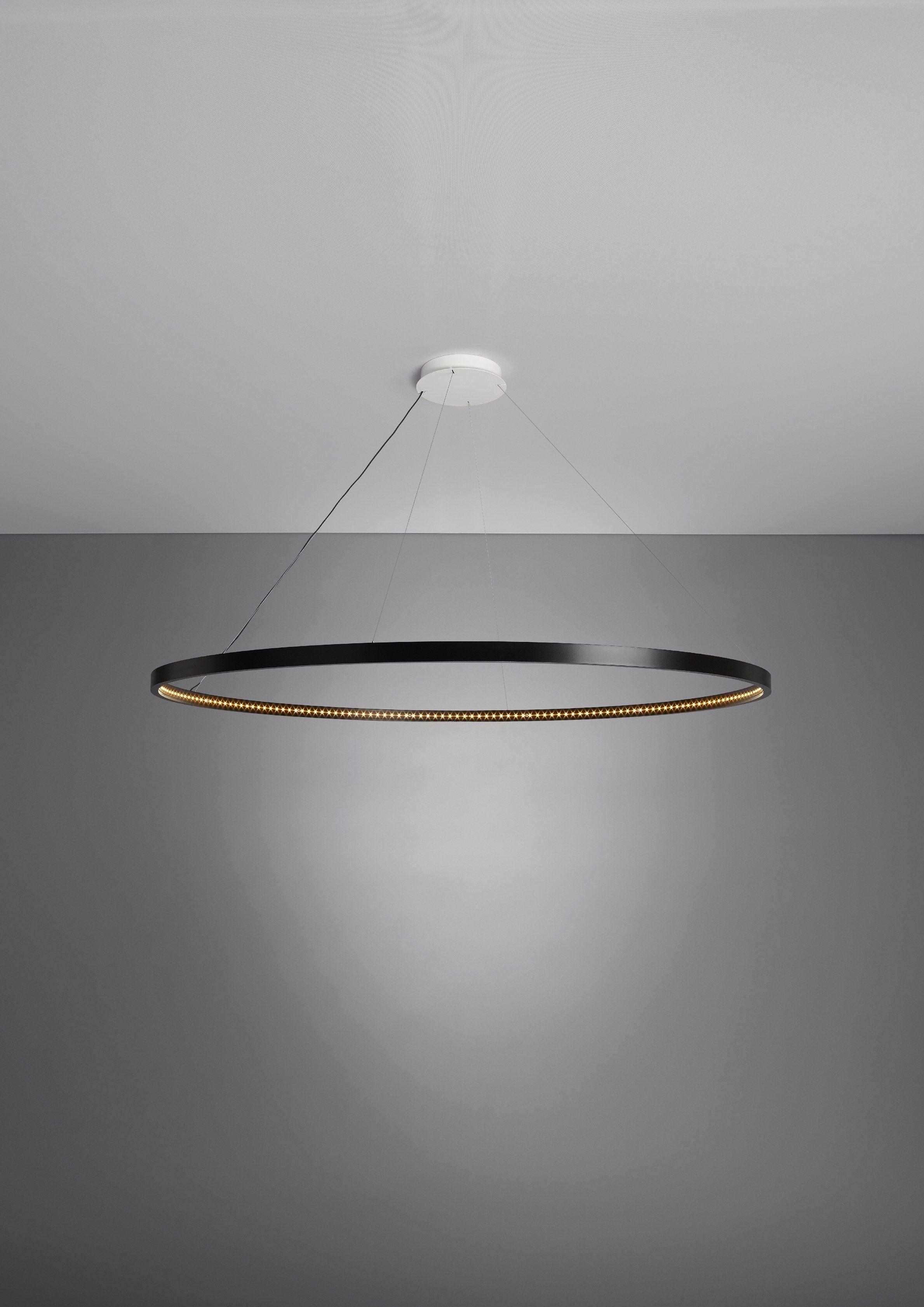 LED direct-indirect light pendant lamp OMEGA 120 by Le ...