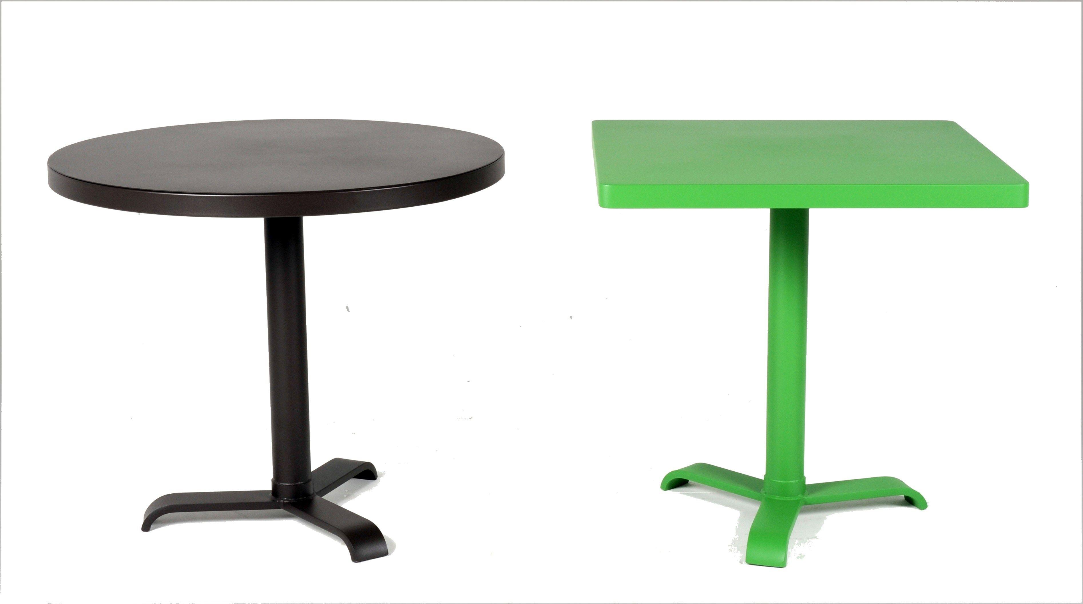 round table 77 by tolix steel design design jean pauchard. Black Bedroom Furniture Sets. Home Design Ideas