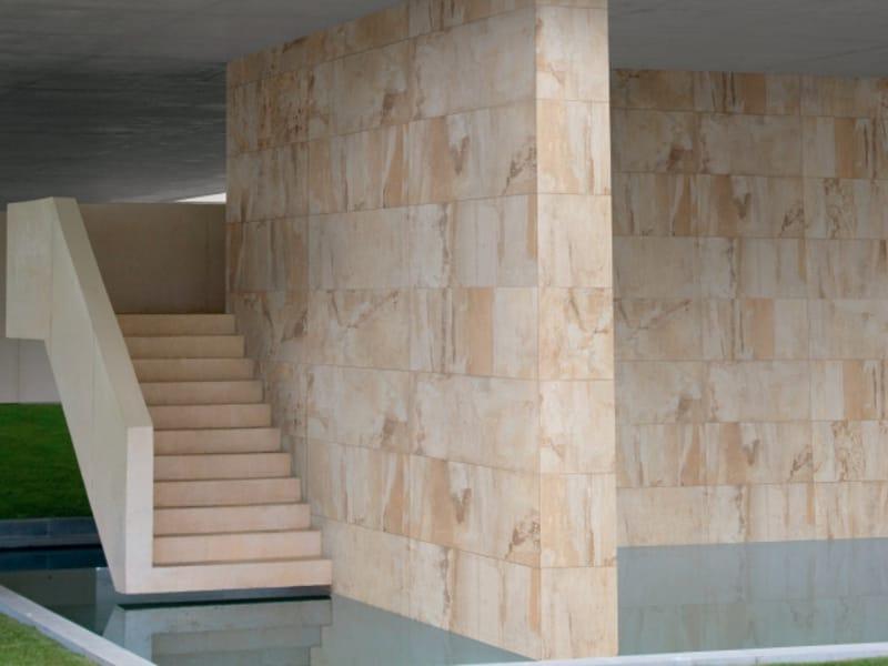 Revestimiento de pared de gres porcel nico imitaci n for Porcelanico imitacion marmol